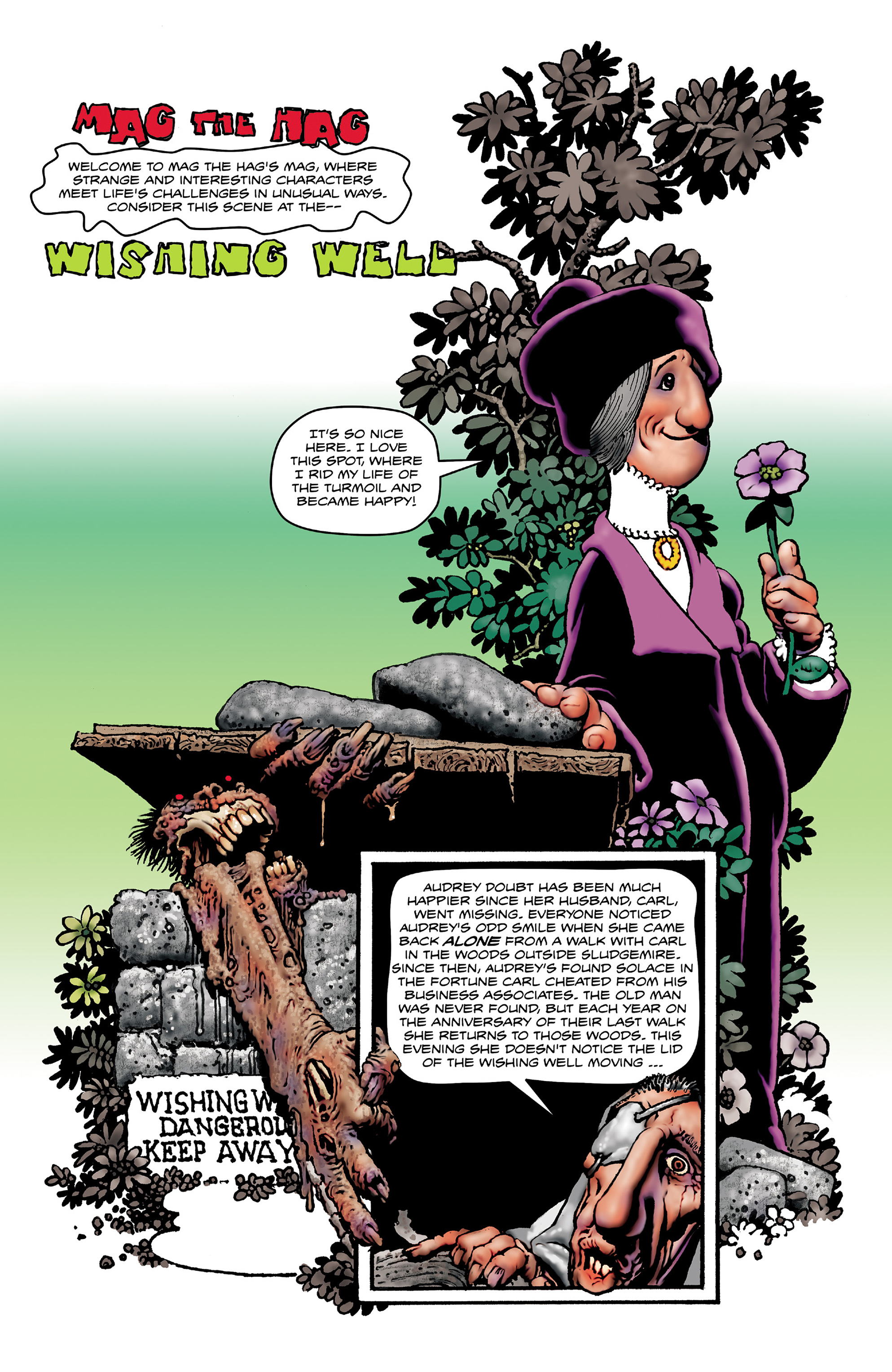 Read online Shadows on the Grave comic -  Issue #3 - 36
