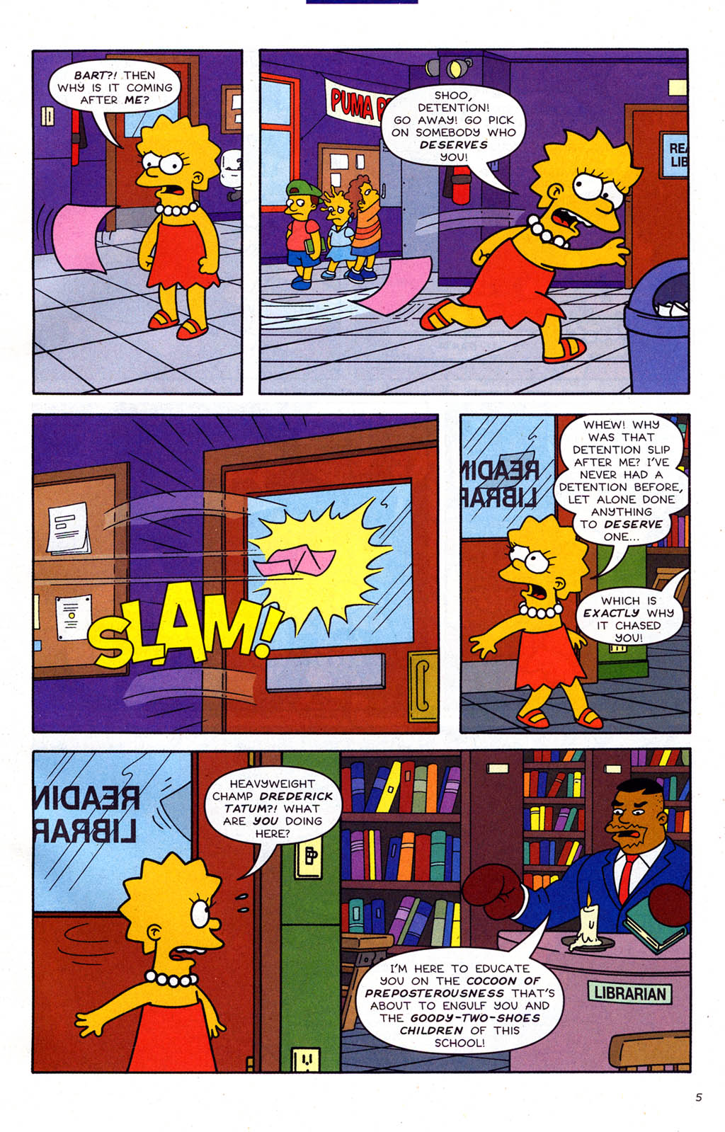 Read online Simpsons Comics Presents Bart Simpson comic -  Issue #22 - 7