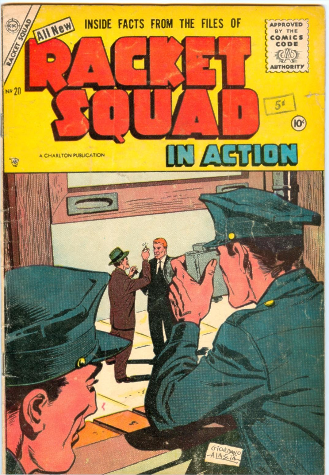 Read online Racket Squad in Action comic -  Issue #20 - 1