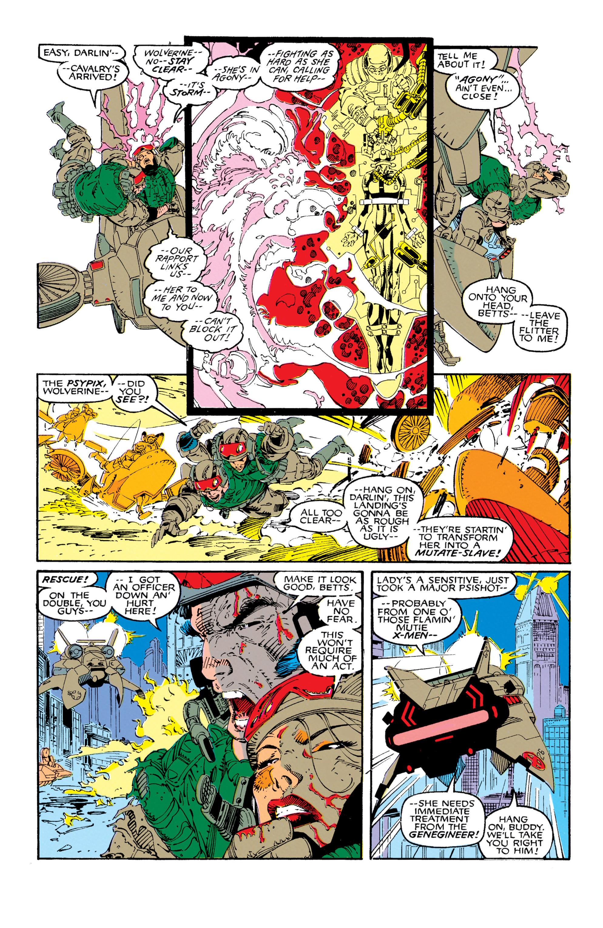 Read online Uncanny X-Men (1963) comic -  Issue #271 - 16