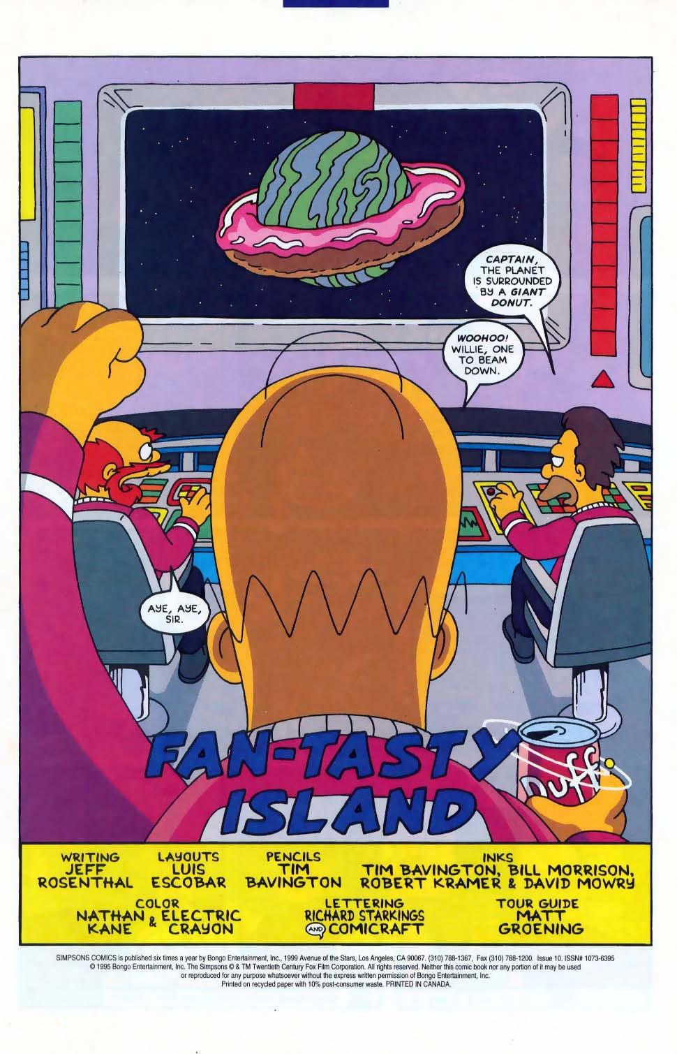 Read online Simpsons Comics comic -  Issue #10 - 2