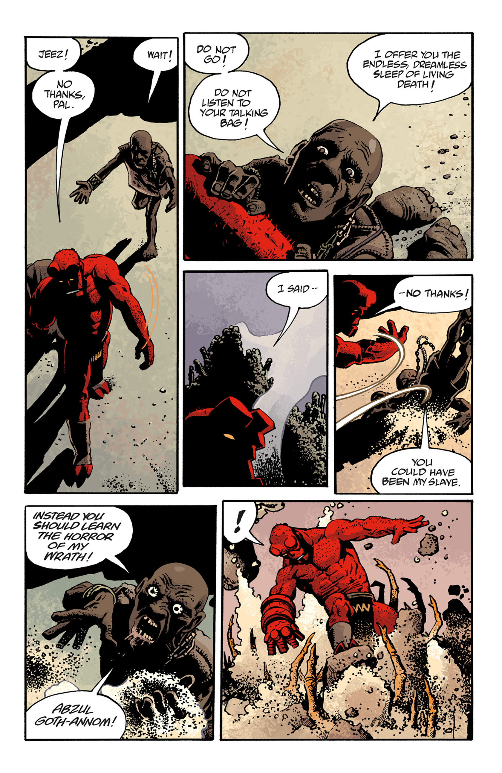 Read online Hellboy: The Troll Witch and Others comic -  Issue # TPB - 111