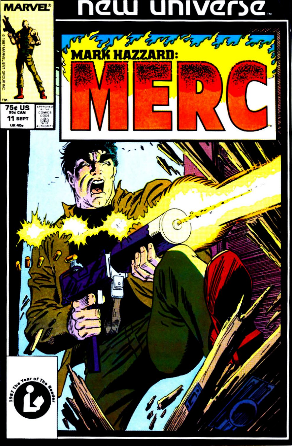 Mark Hazzard: Merc issue 11 - Page 1