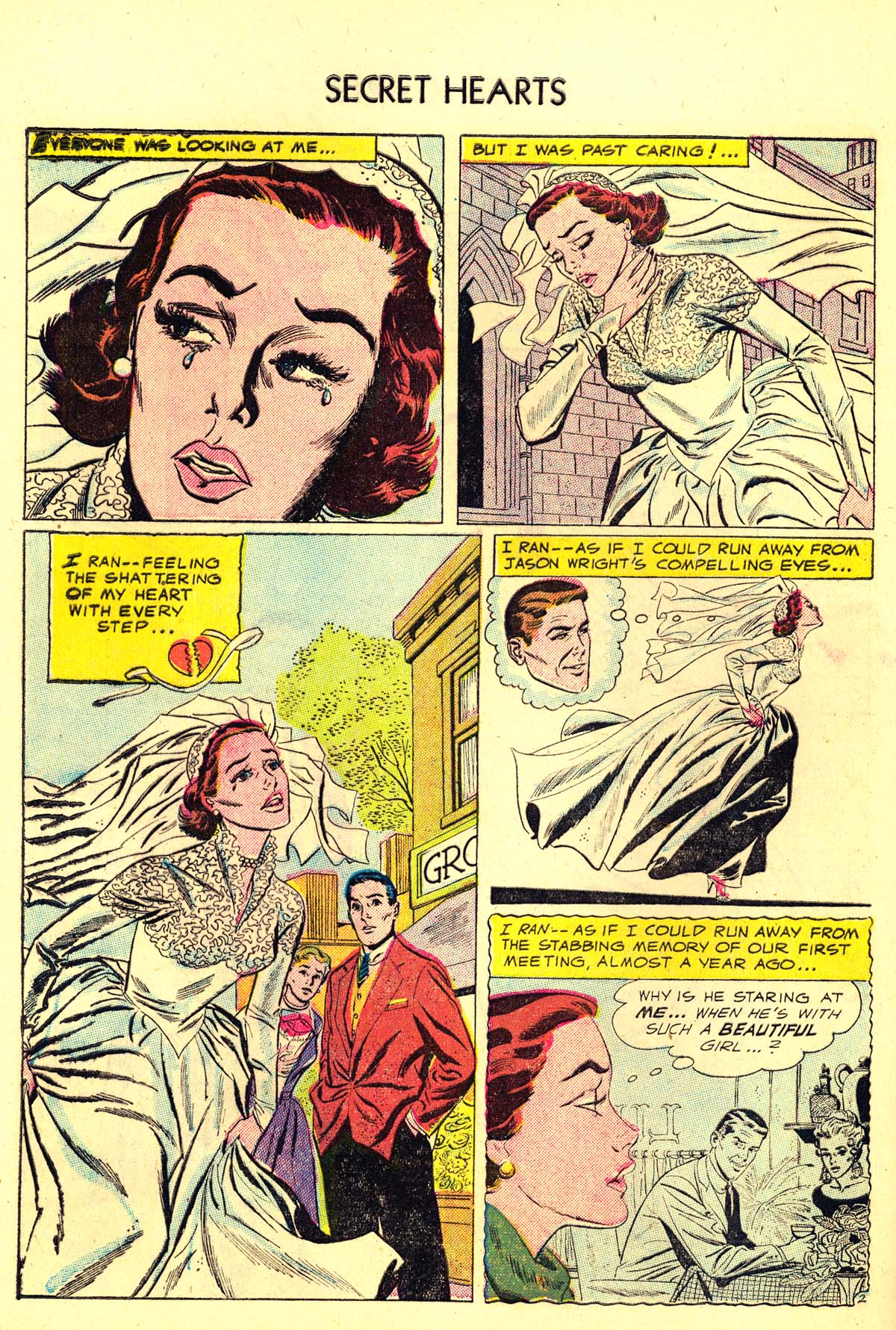 Read online Secret Hearts comic -  Issue #34 - 28