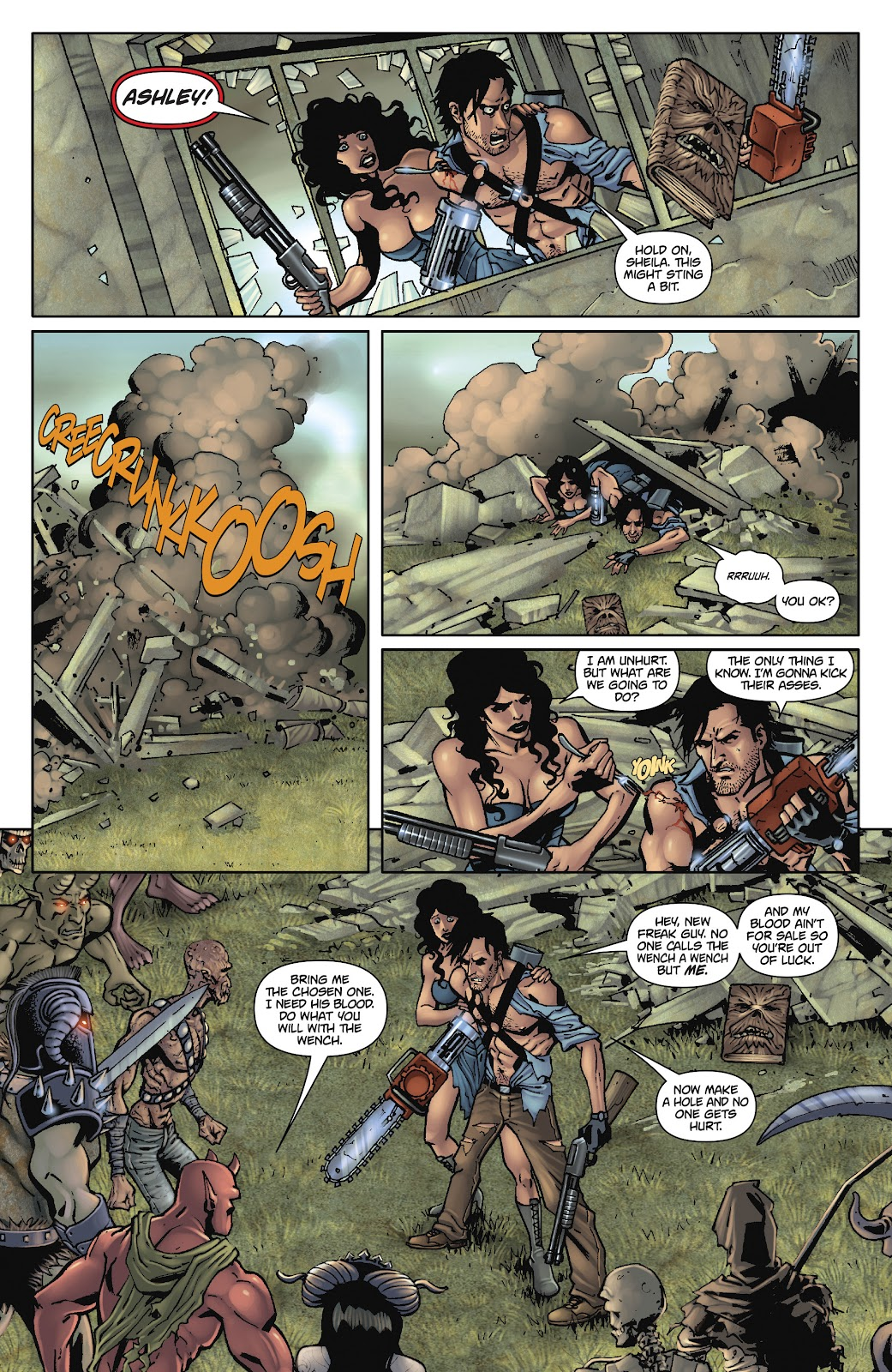Army of Darkness: The Long Road Home issue TPB - Page 94
