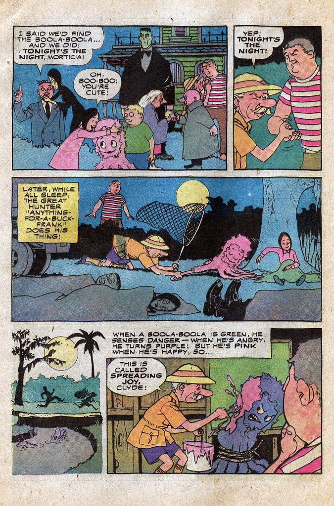 Read online Addams Family comic -  Issue #1 - 17