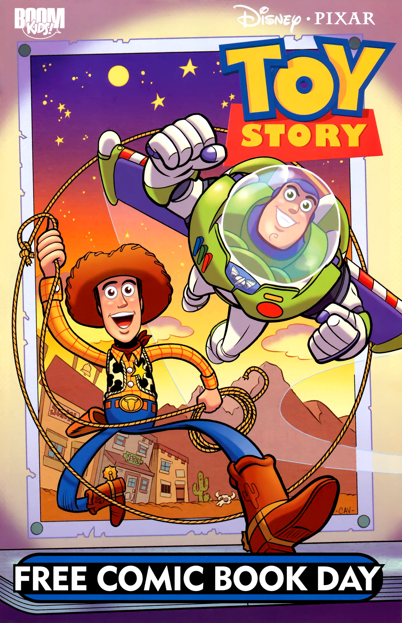 Read online Toy Story (2009) comic -  Issue #0 - 1
