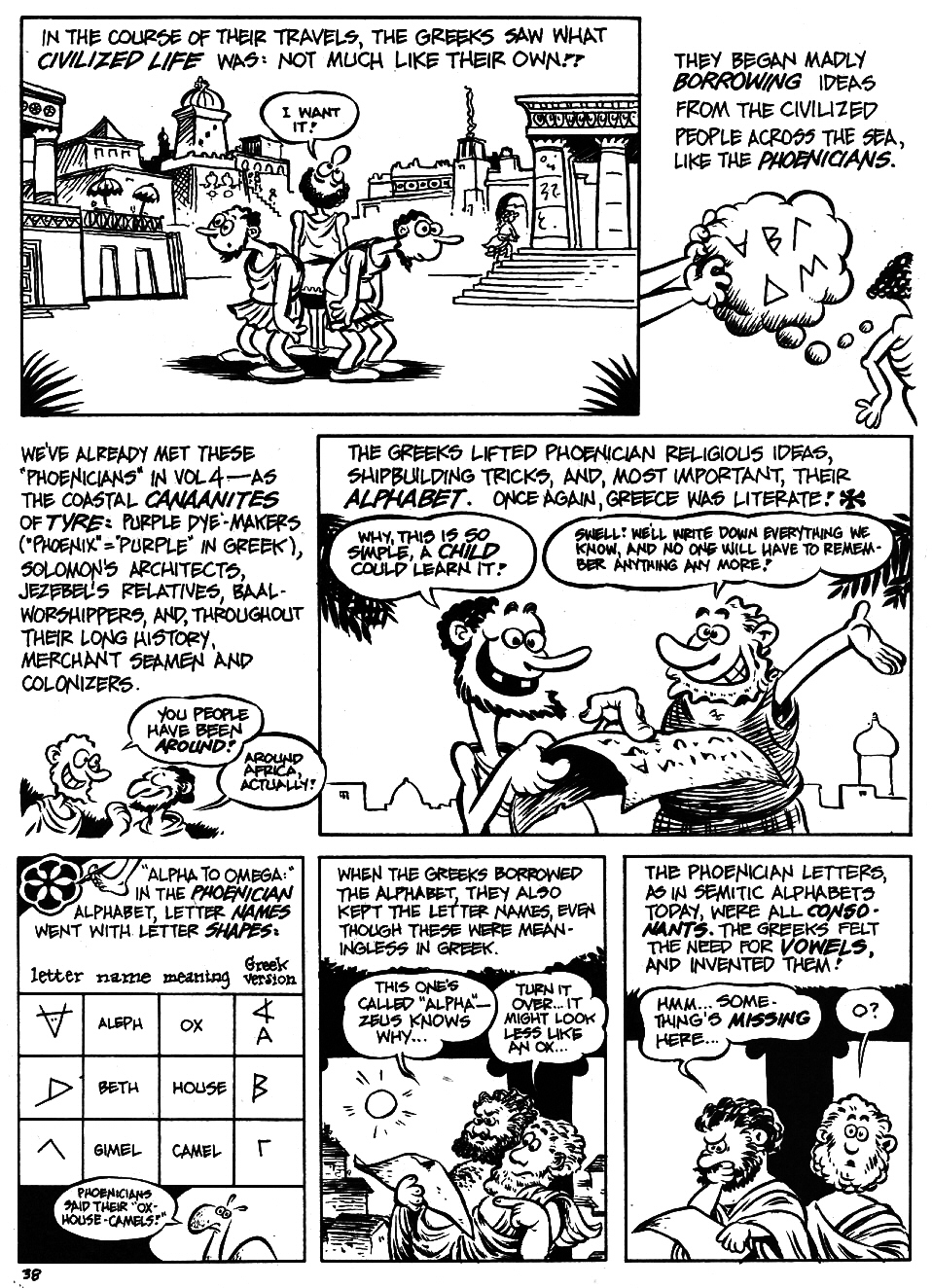 Read online The Cartoon History of the Universe comic -  Issue #5 - 40