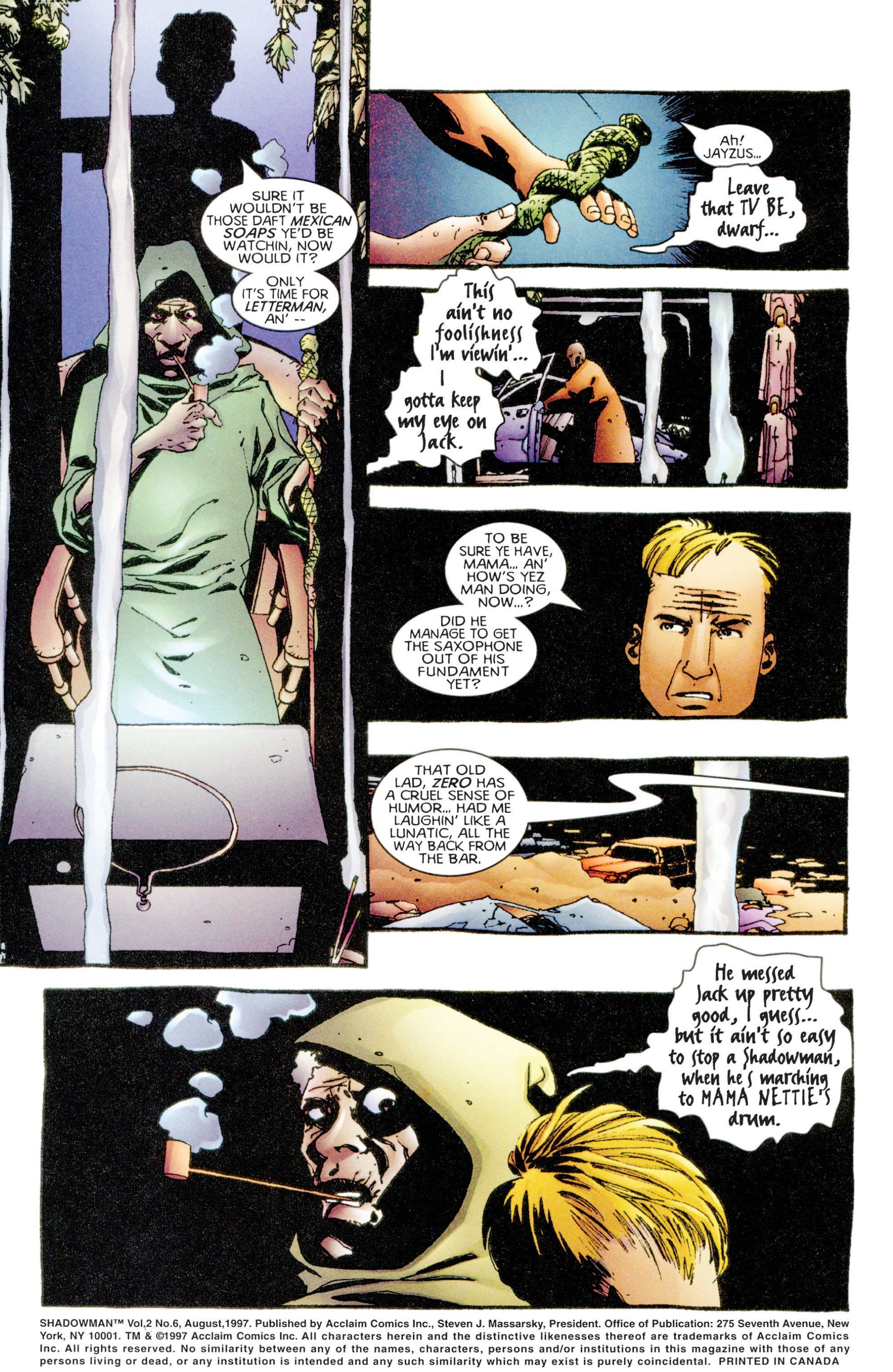 Read online Shadowman (1997) comic -  Issue #6 - 3