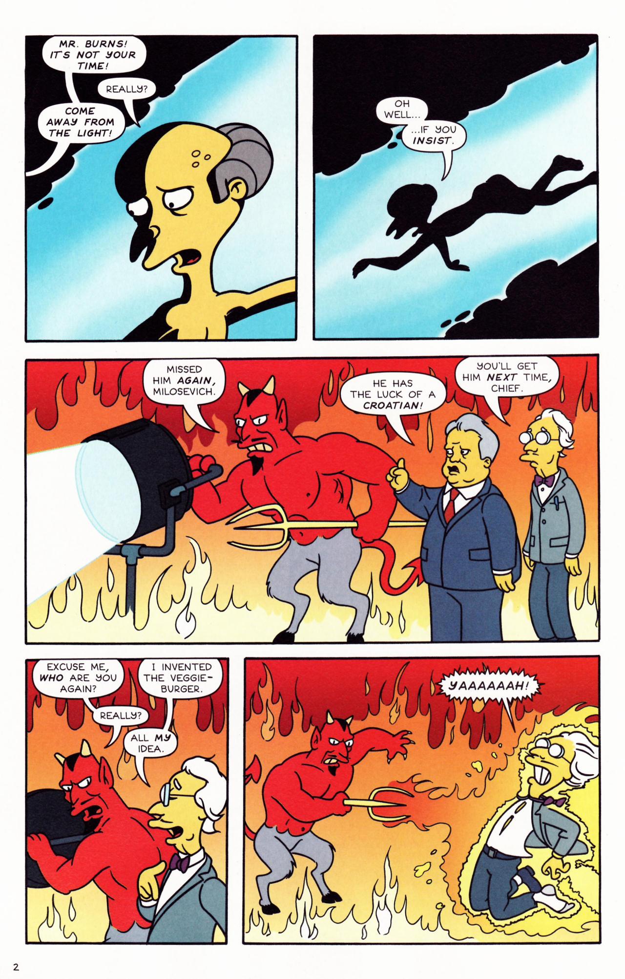 Read online Simpsons Comics comic -  Issue #132 - 3