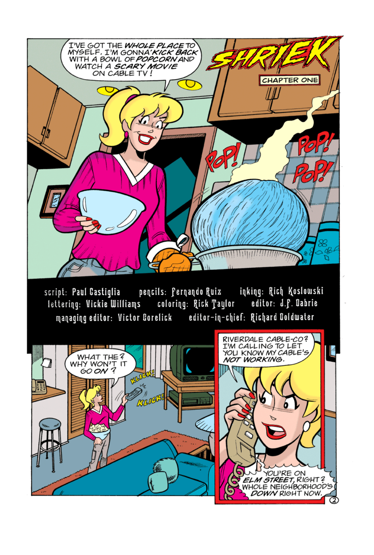 Read online Archie's Weird Mysteries comic -  Issue #2 - 2