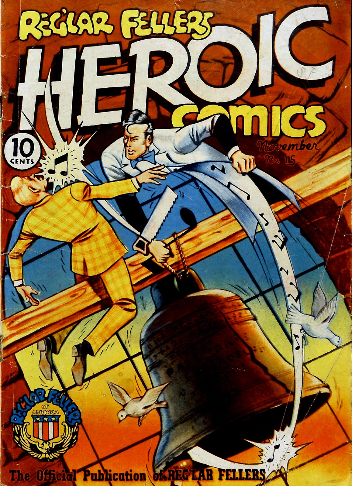 Reglar Fellers Heroic Comics issue 15 - Page 1