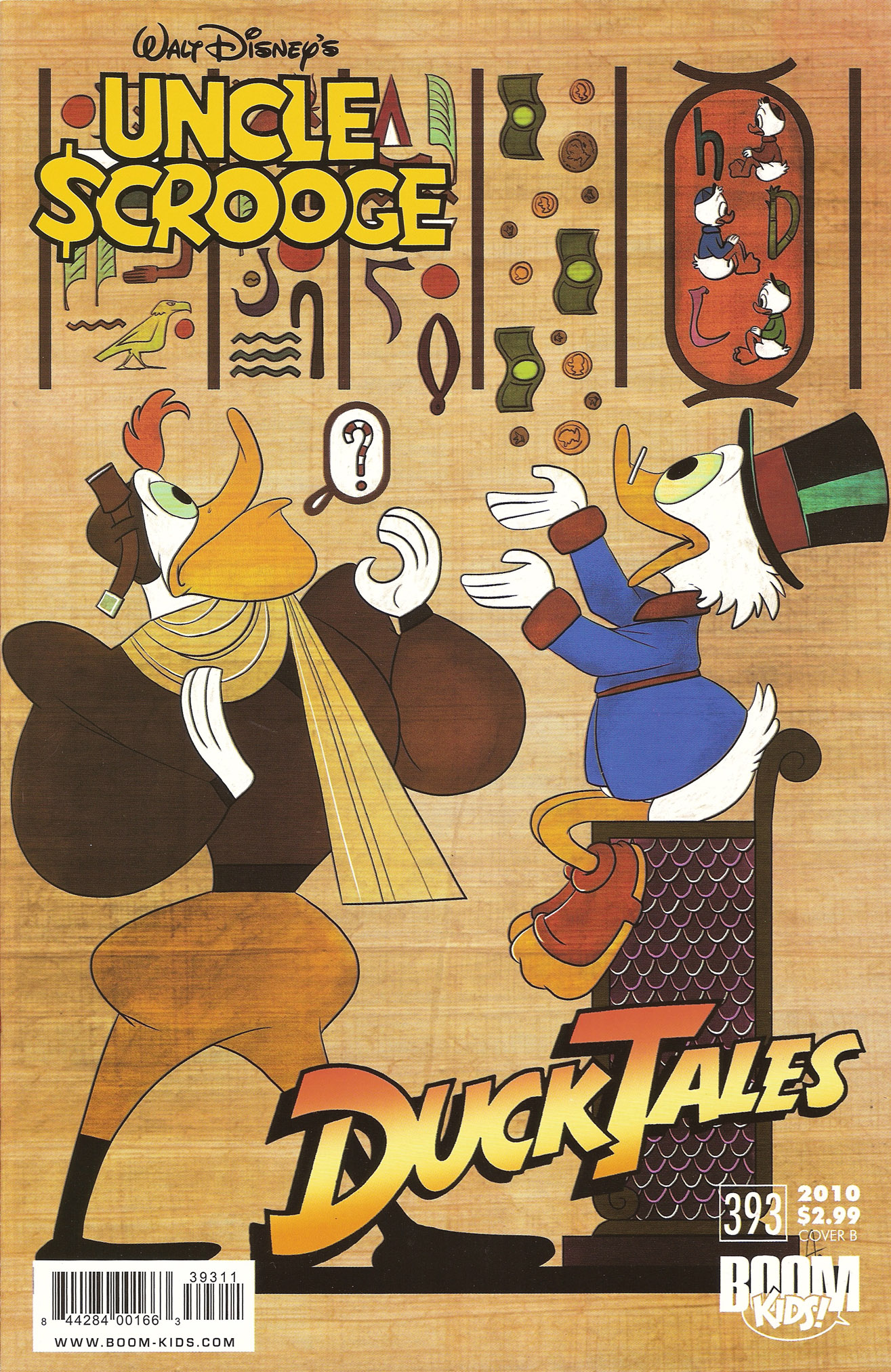 Read online Uncle Scrooge (1953) comic -  Issue #393 - 2