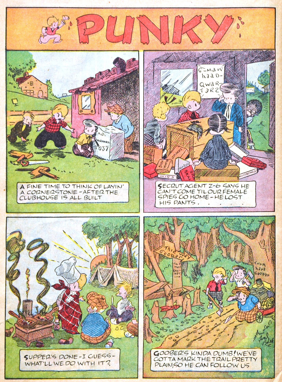 Read online Famous Funnies comic -  Issue #51 - 56