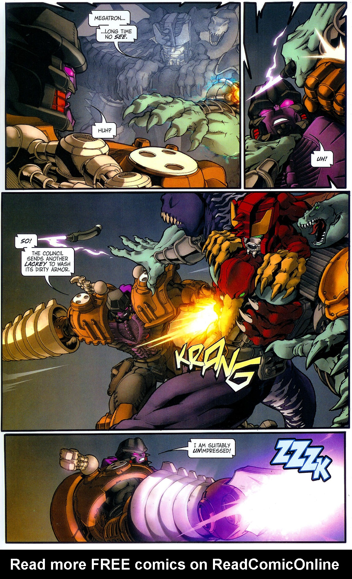 Read online Transformers, Beast Wars: The Gathering comic -  Issue #3 - 18