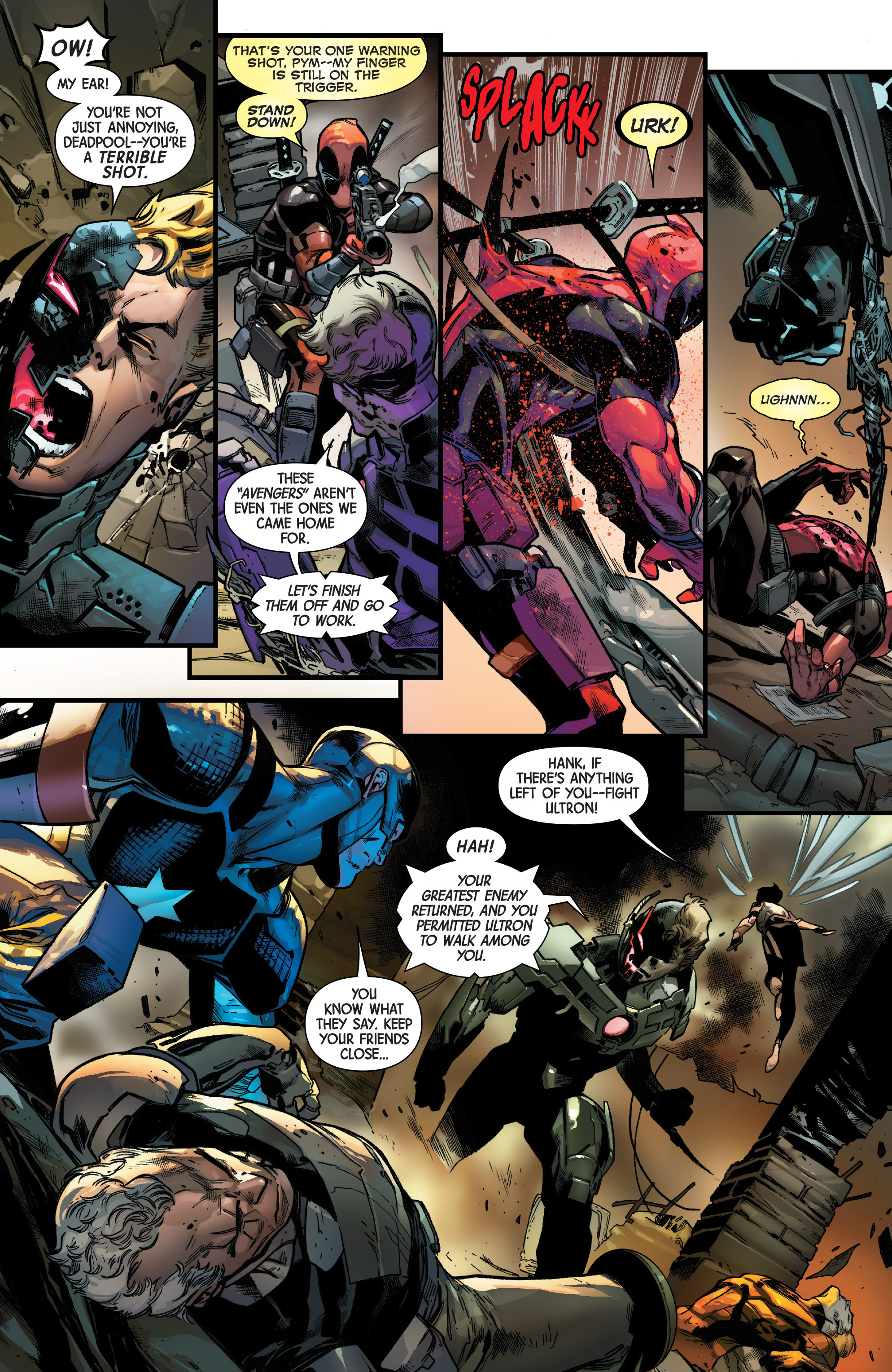 Read online Uncanny Avengers [II] comic -  Issue #11 - 3