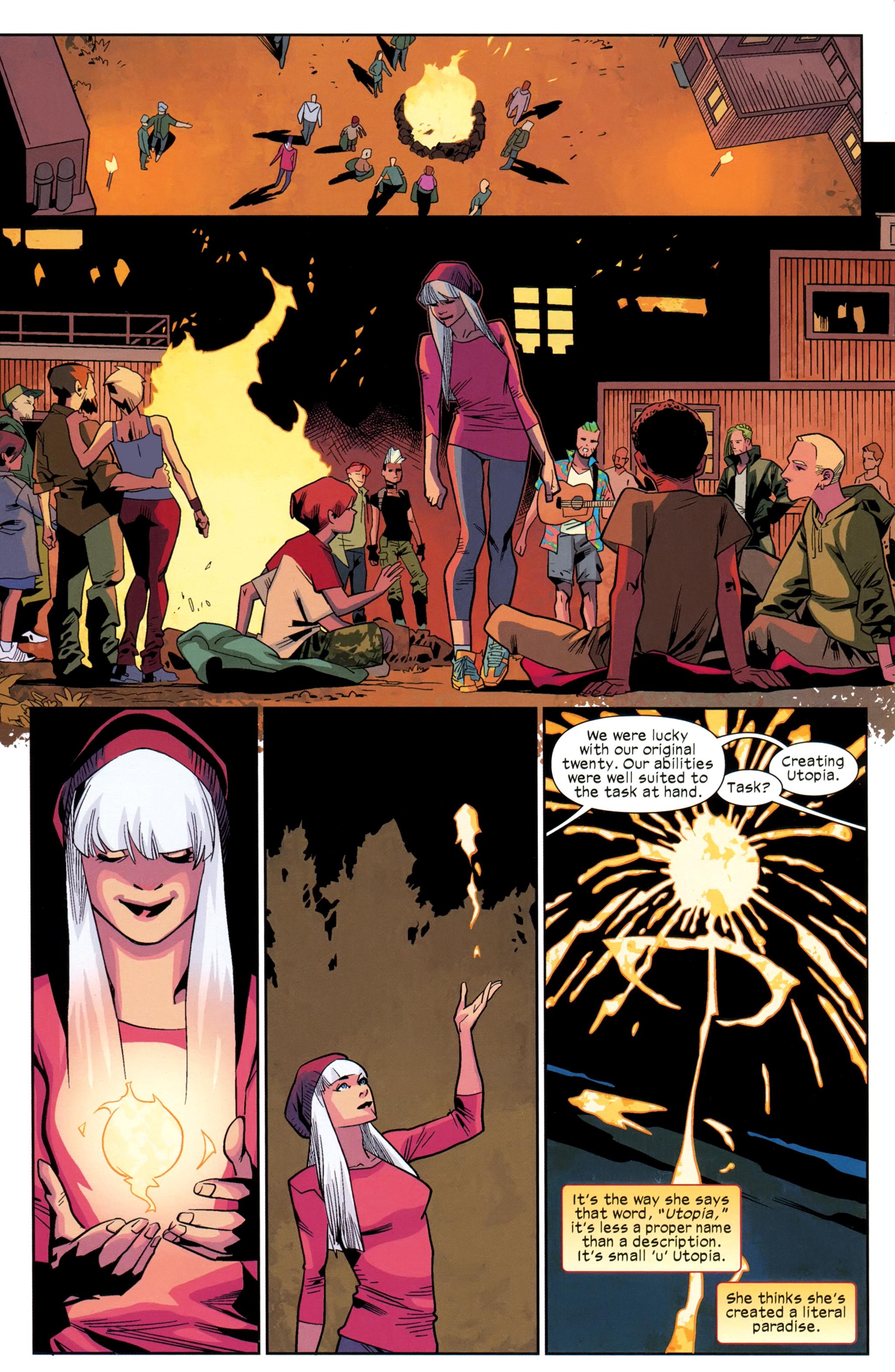 Read online Ultimate Comics X-Men comic -  Issue #25 - 17