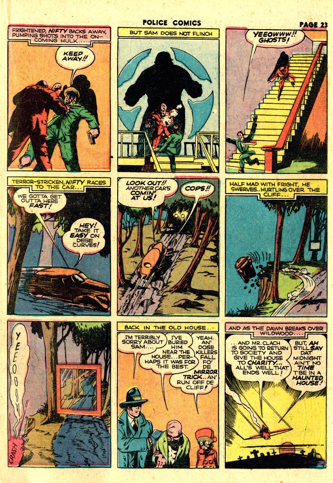 Police Comics issue 19 - Page 25