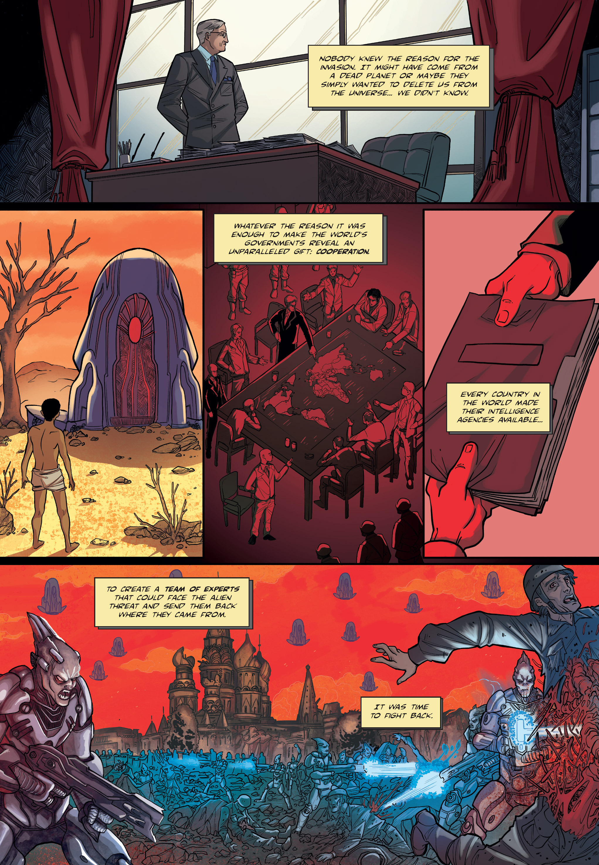 Read online The Shadow of a Terrible Thing comic -  Issue # TPB - 11