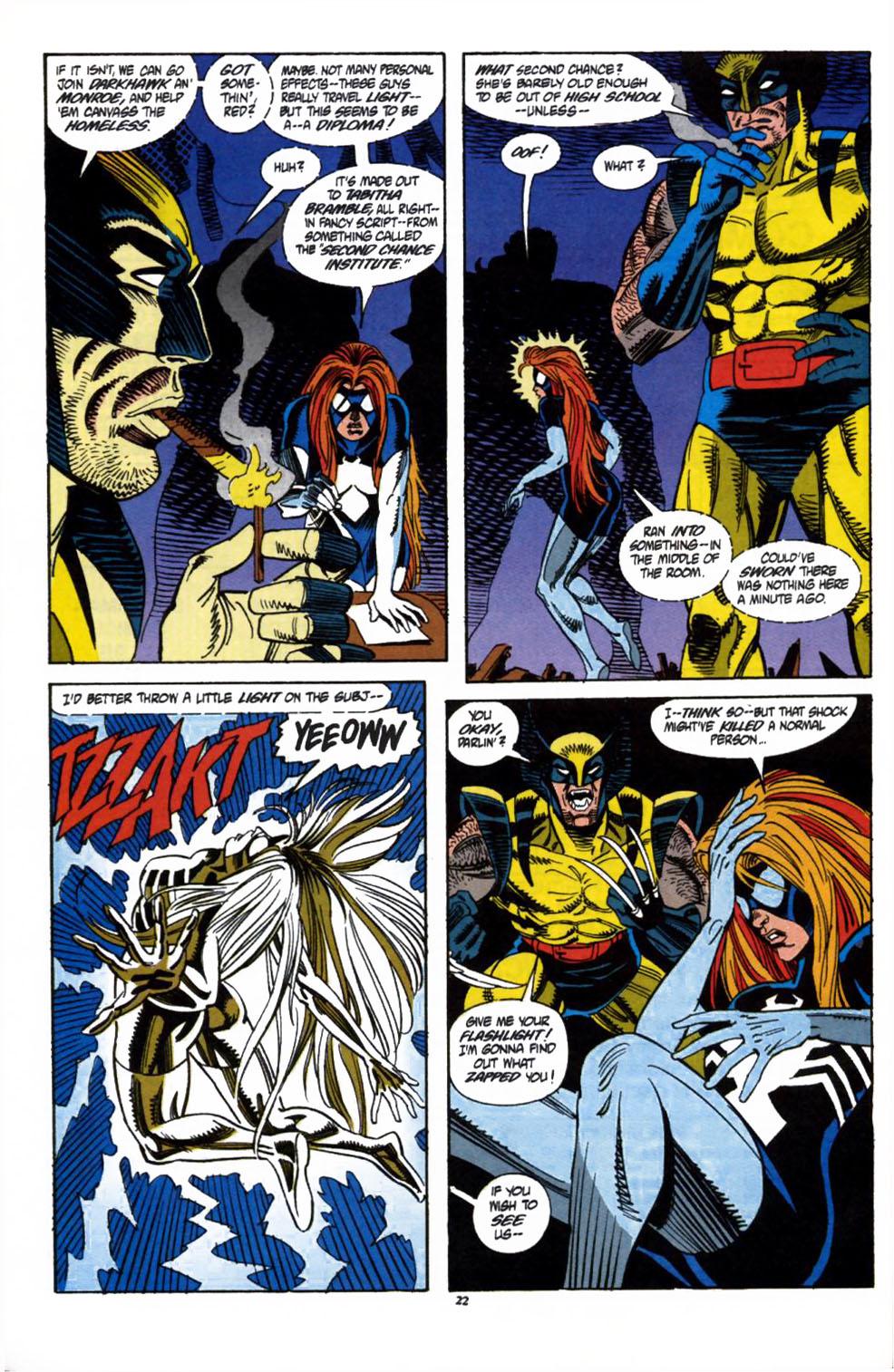 Read online Secret Defenders comic -  Issue #1 - 18