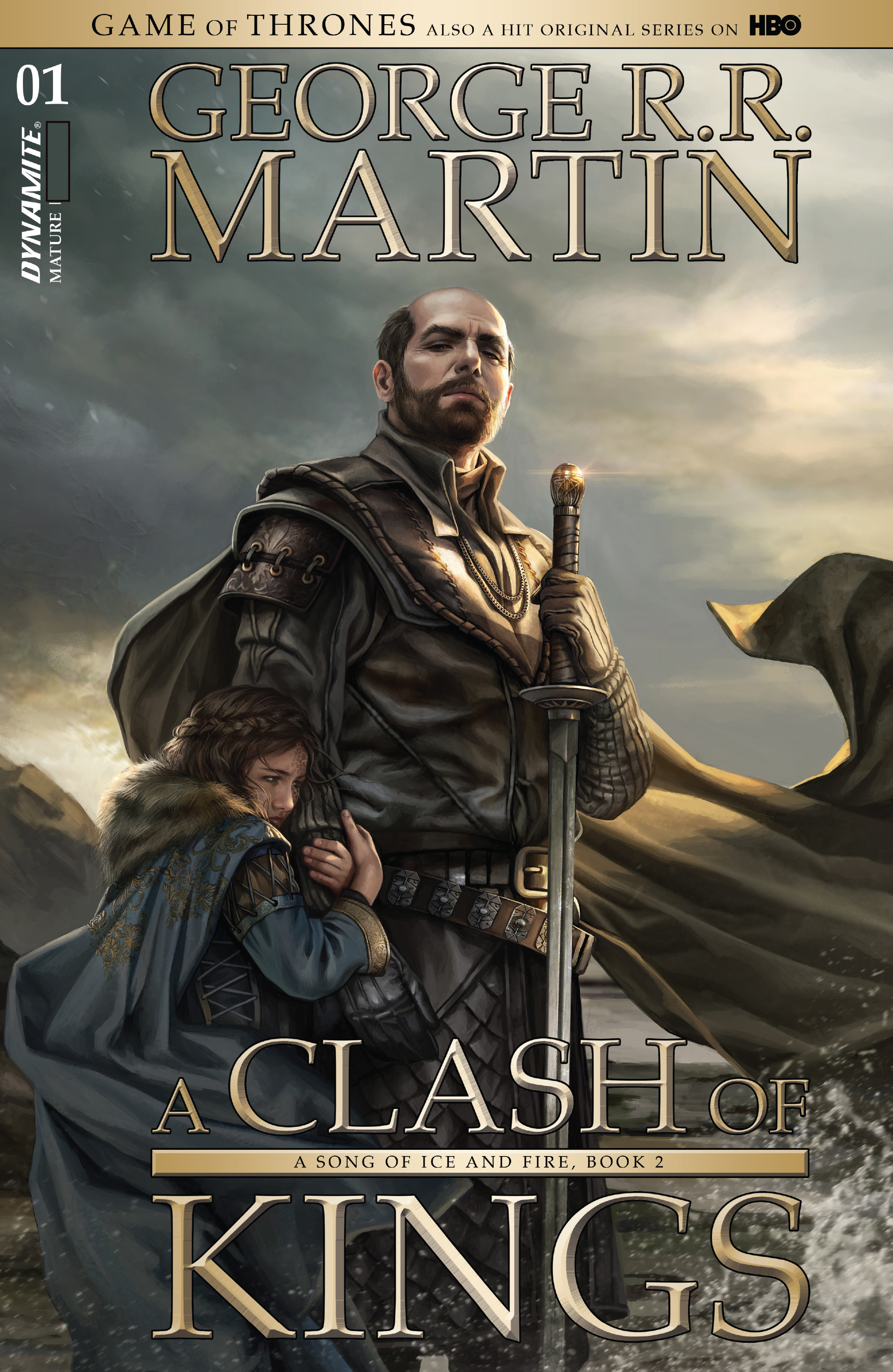 Read online A Clash of Kings comic -  Issue #1 - 2