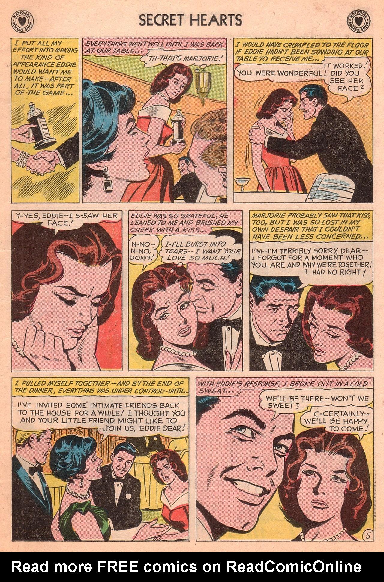 Read online Secret Hearts comic -  Issue #77 - 7