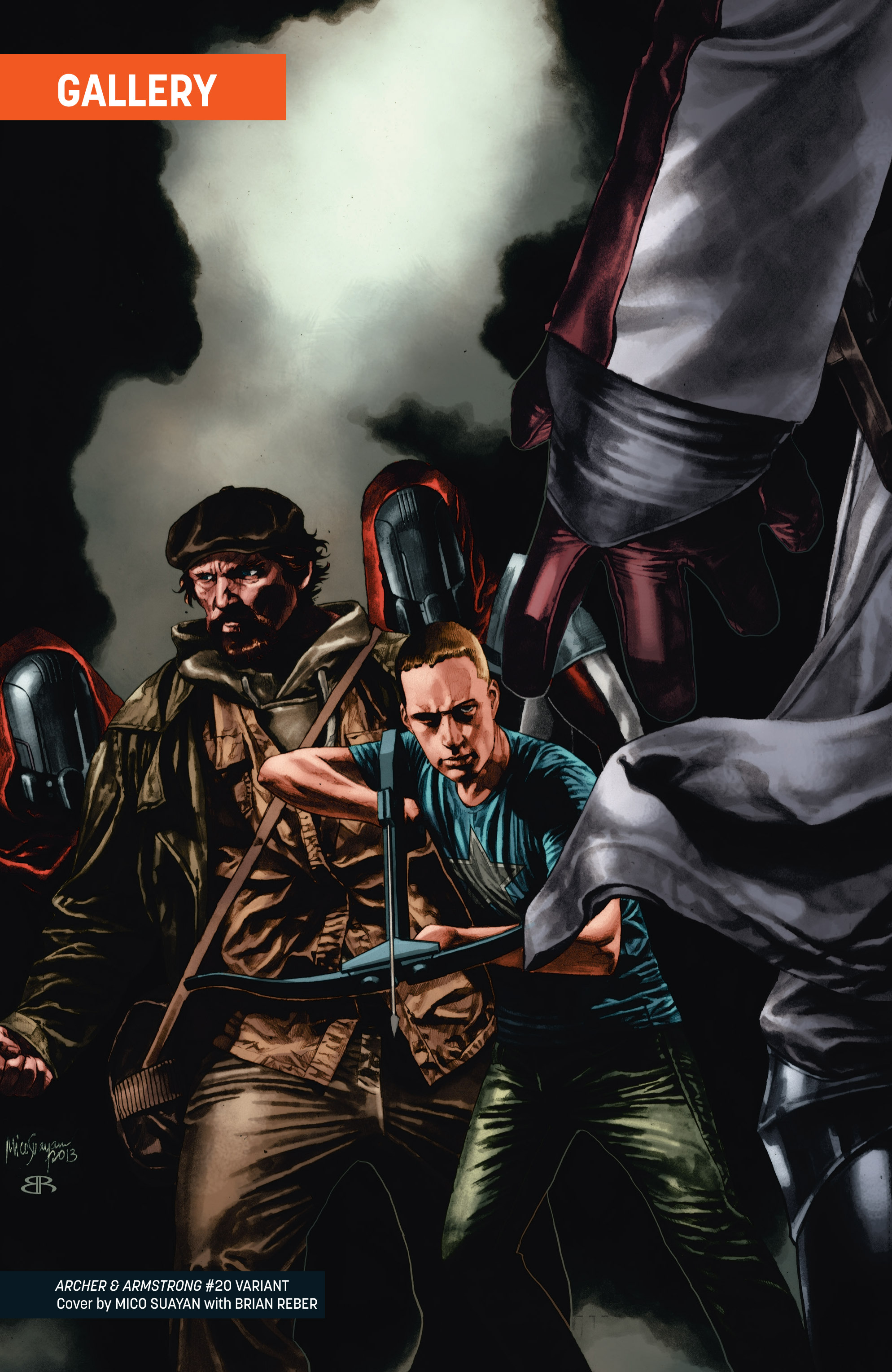 Read online Archer and Armstrong comic -  Issue #Archer and Armstrong _TPB 6 - 108