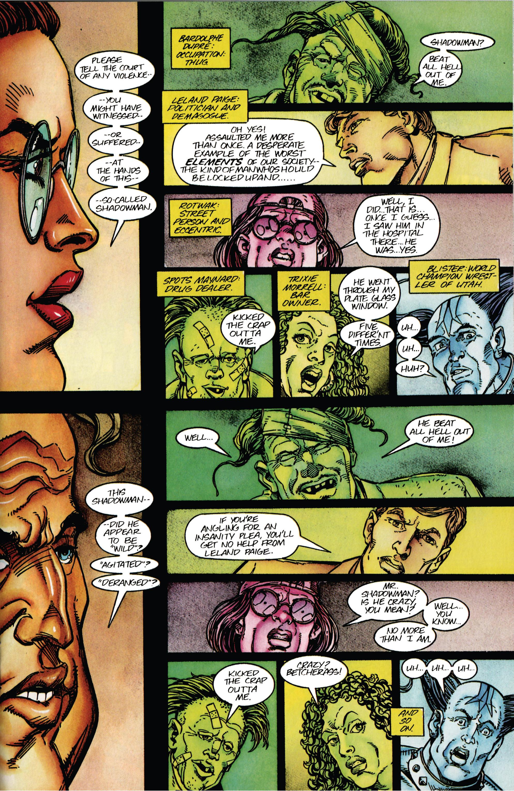 Read online Shadowman (1992) comic -  Issue #42 - 12