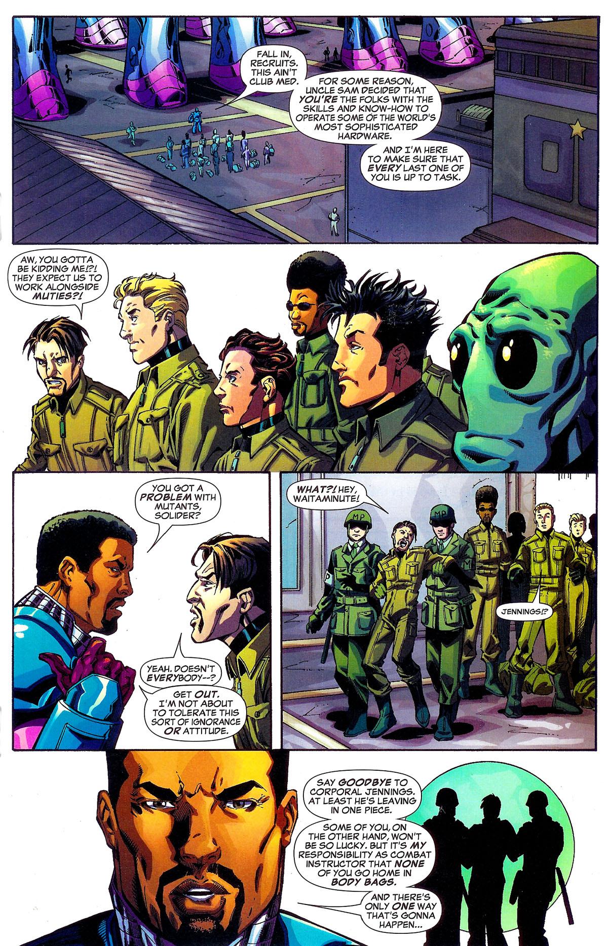 Read online Sentinel Squad O*N*E comic -  Issue #1 - 13