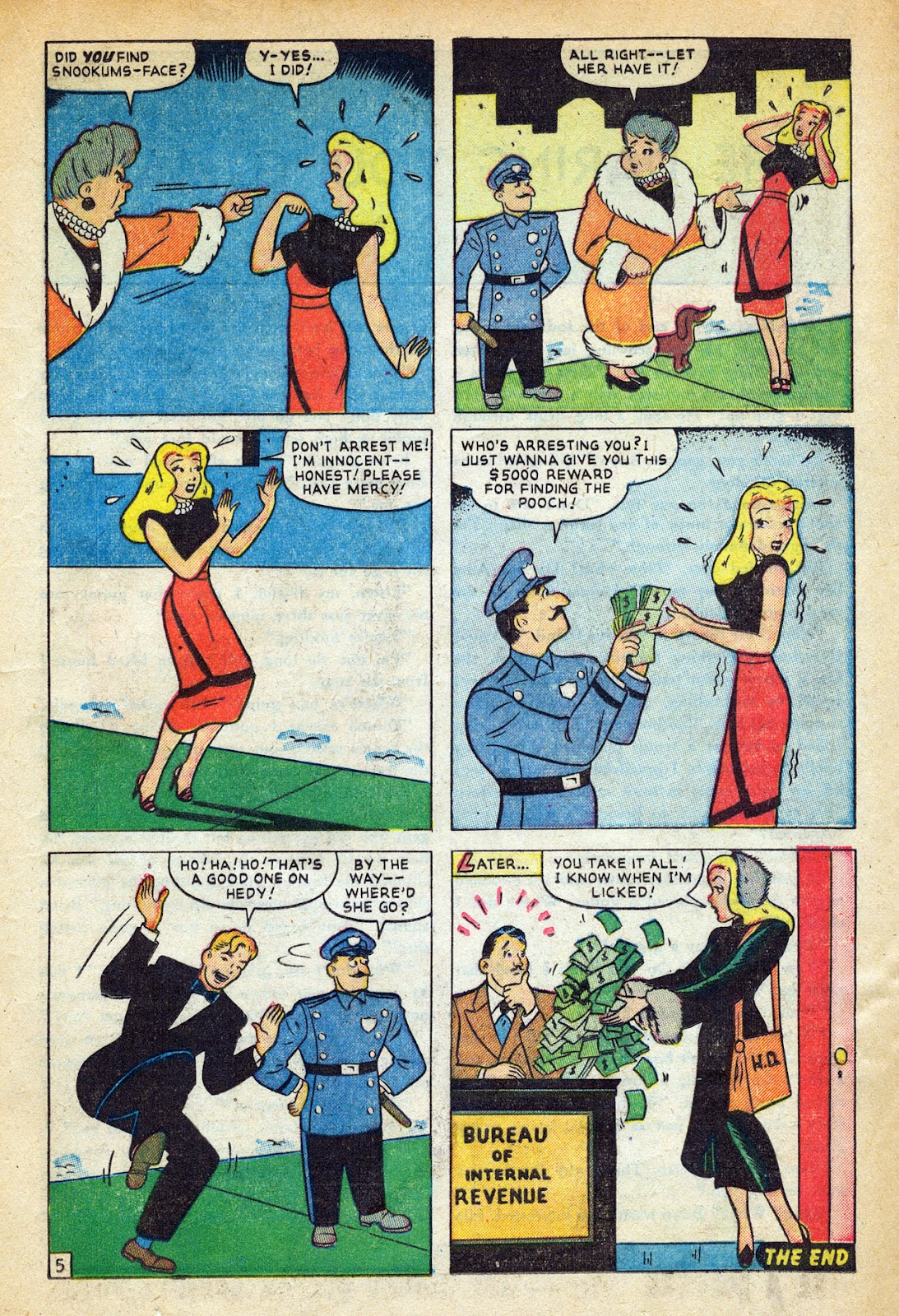 Read online Nellie The Nurse (1945) comic -  Issue #20 - 23