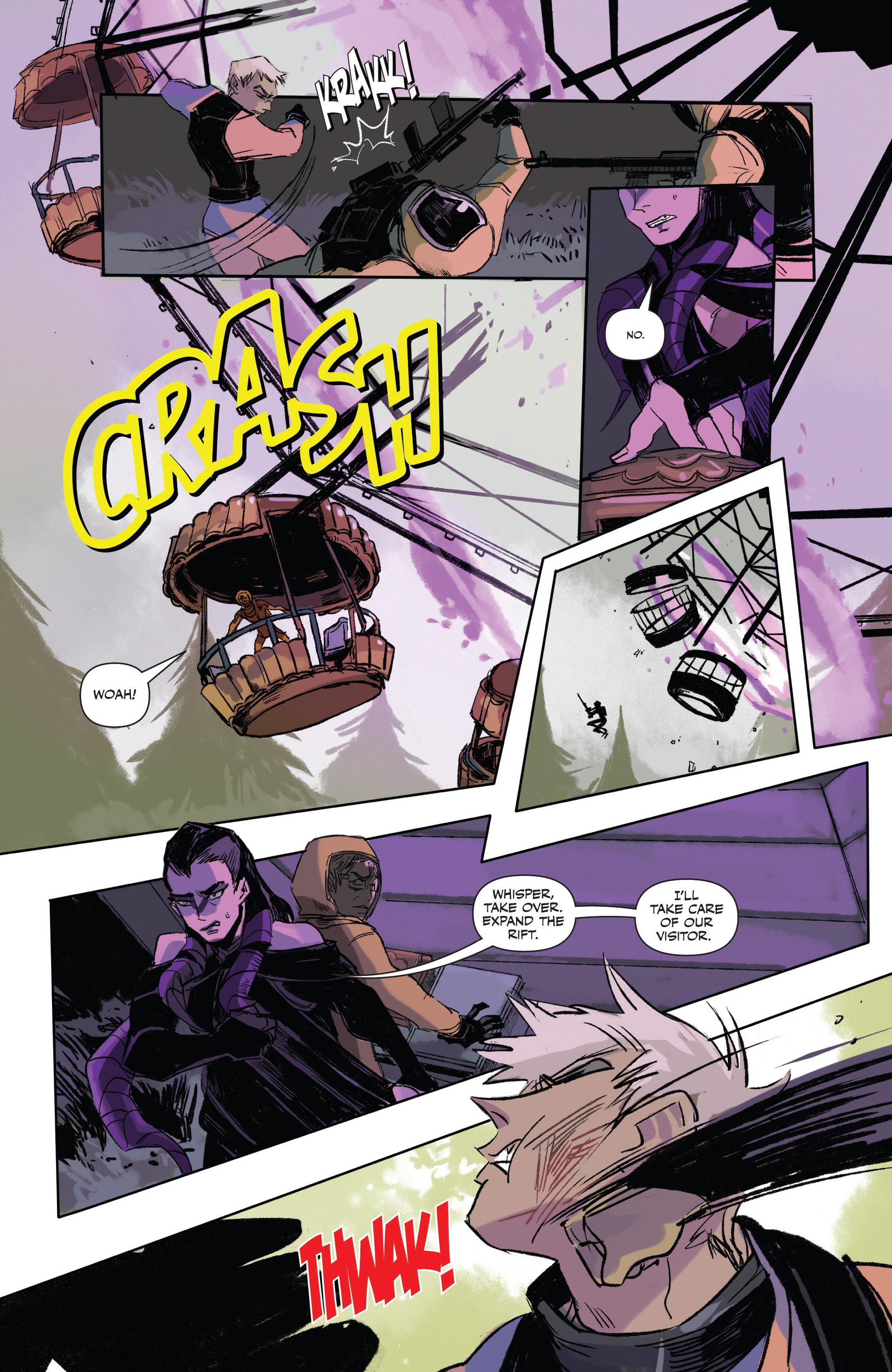 Read online Freelance comic -  Issue #3 - 20