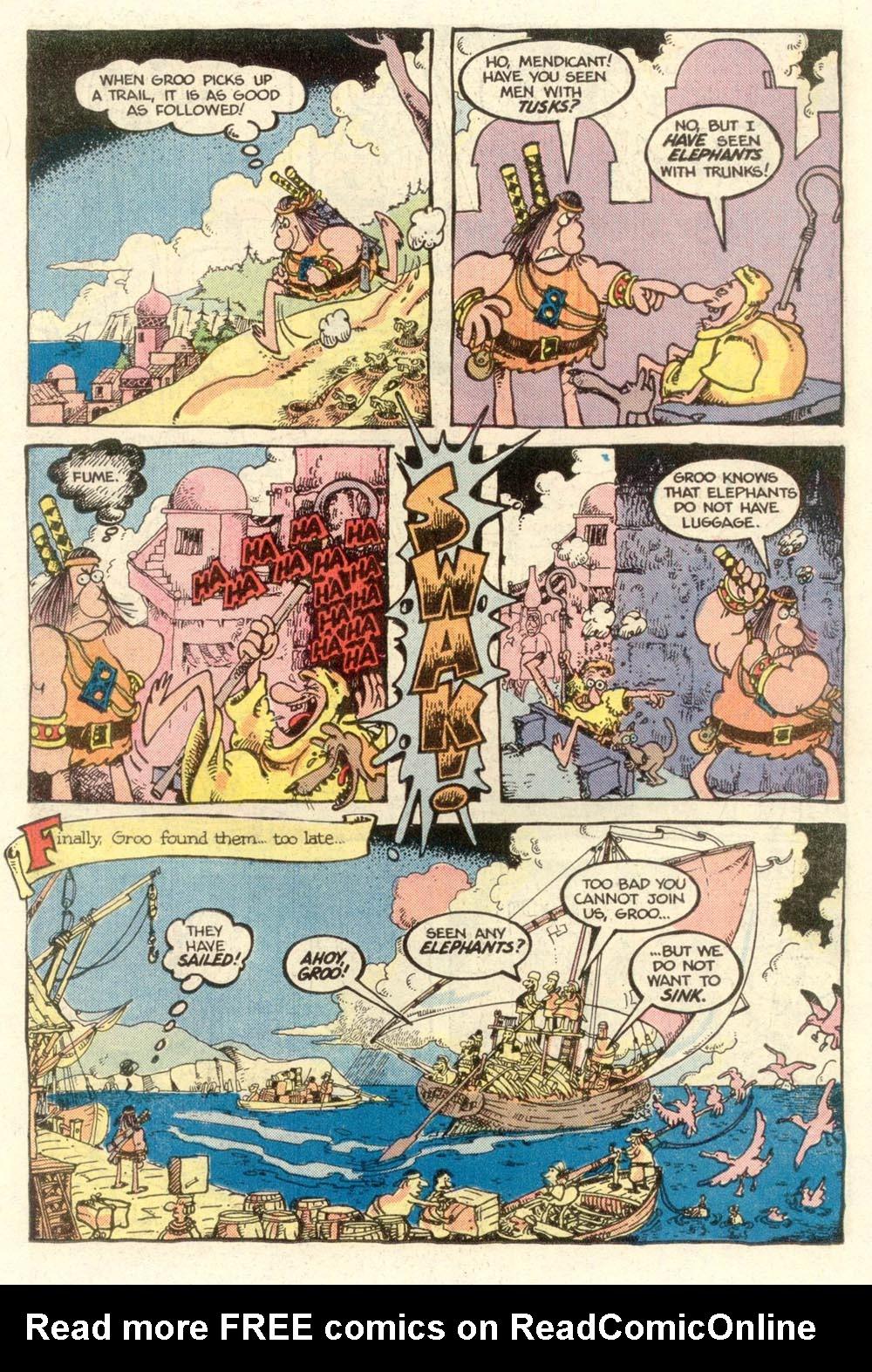 Read online Sergio Aragonés Groo the Wanderer comic -  Issue #7 - 9