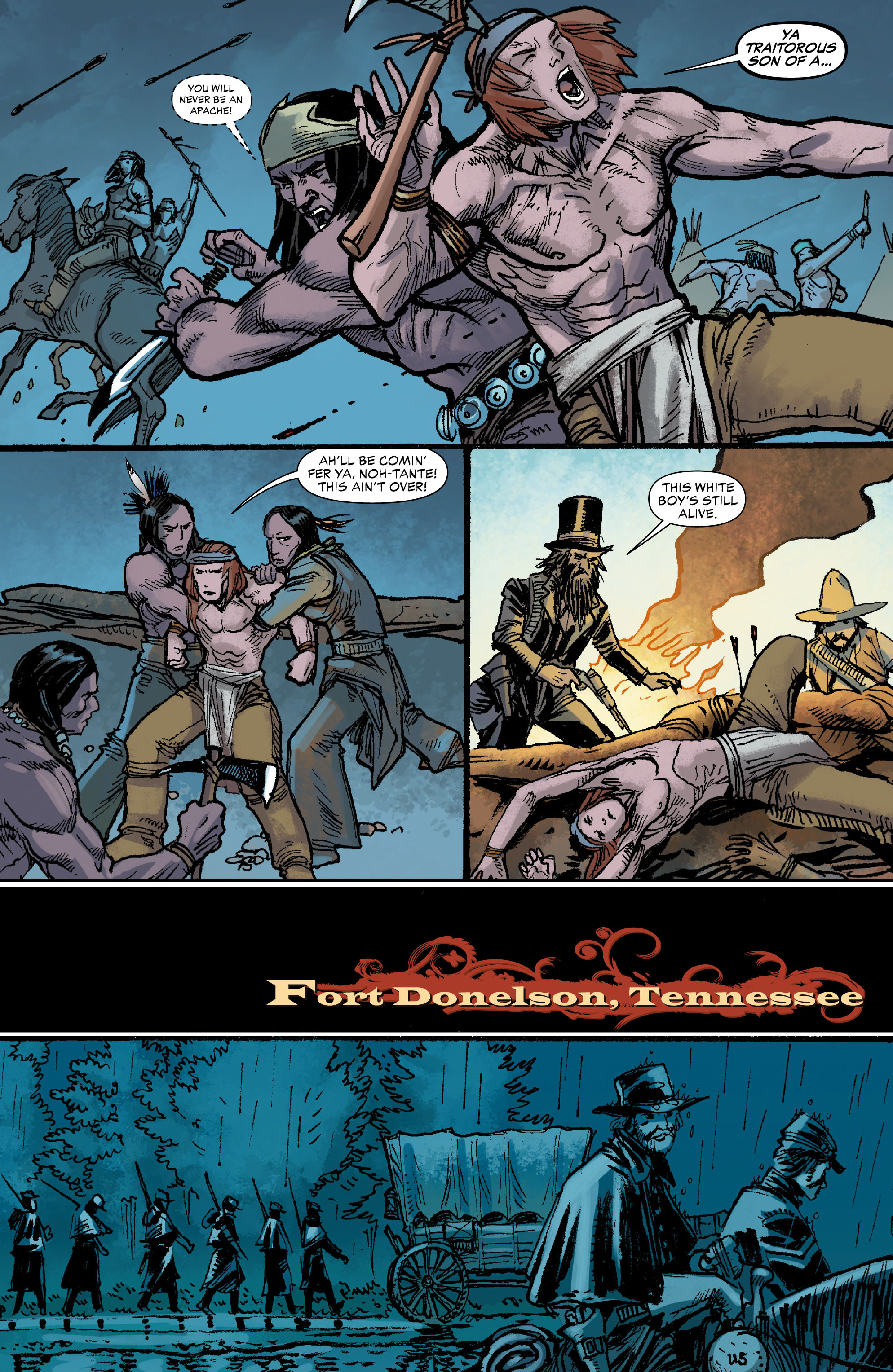 Read online All-Star Western (2011) comic -  Issue #0 - 15