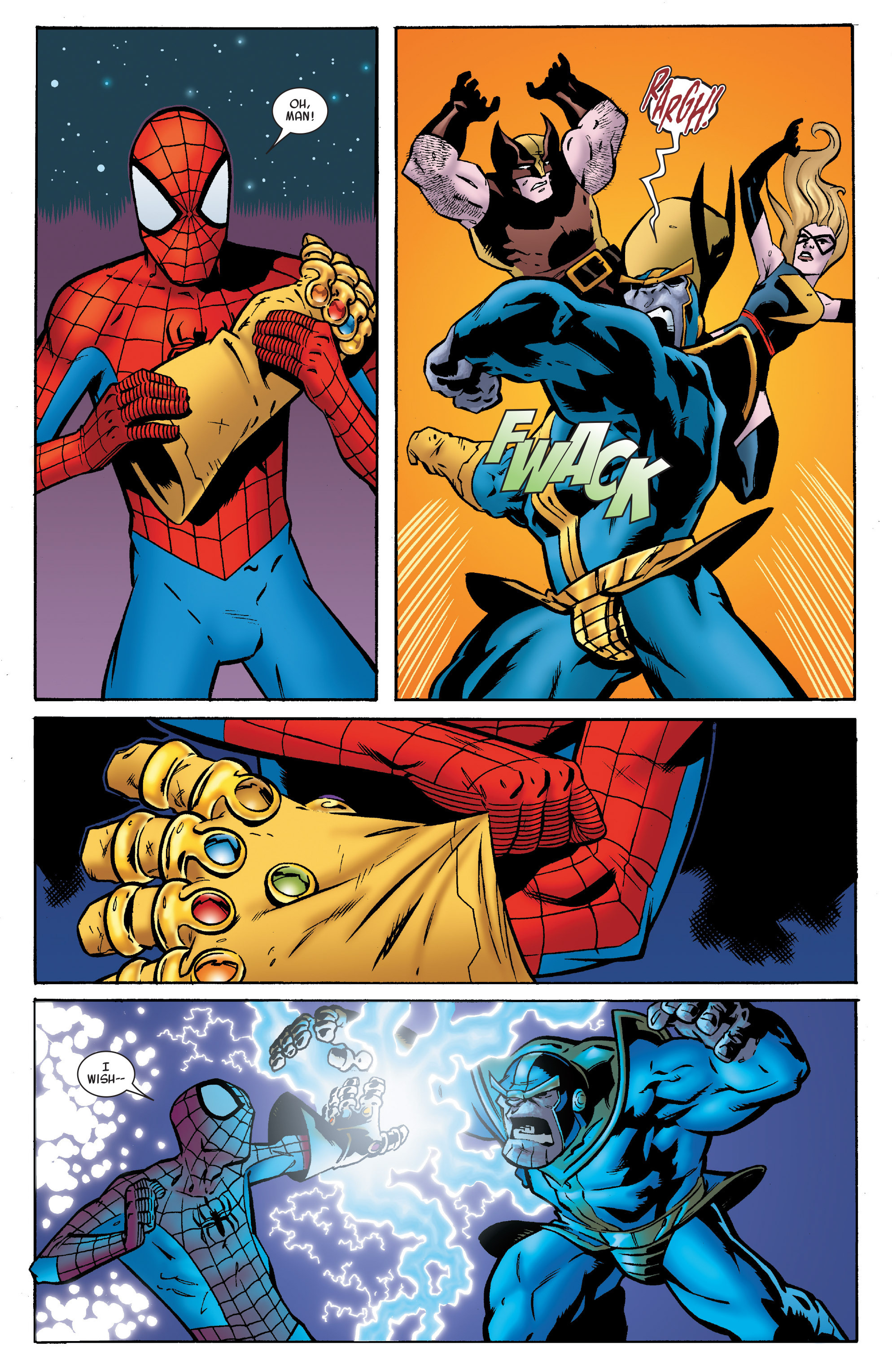 Read online Avengers & the Infinity Gauntlet comic -  Issue #4 - 18