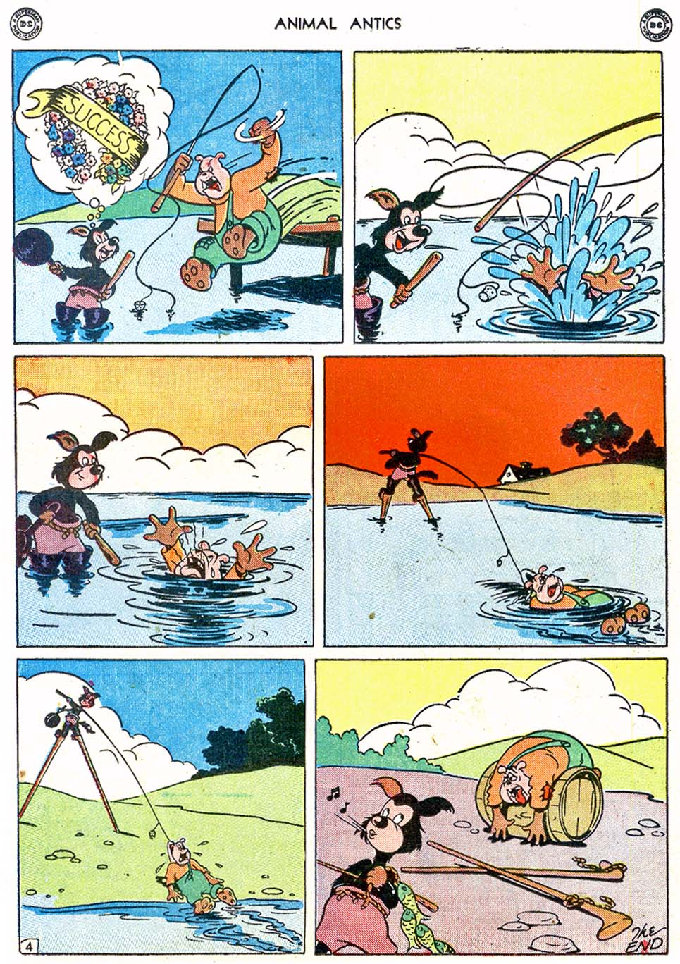 Read online Animal Antics comic -  Issue #4 - 32