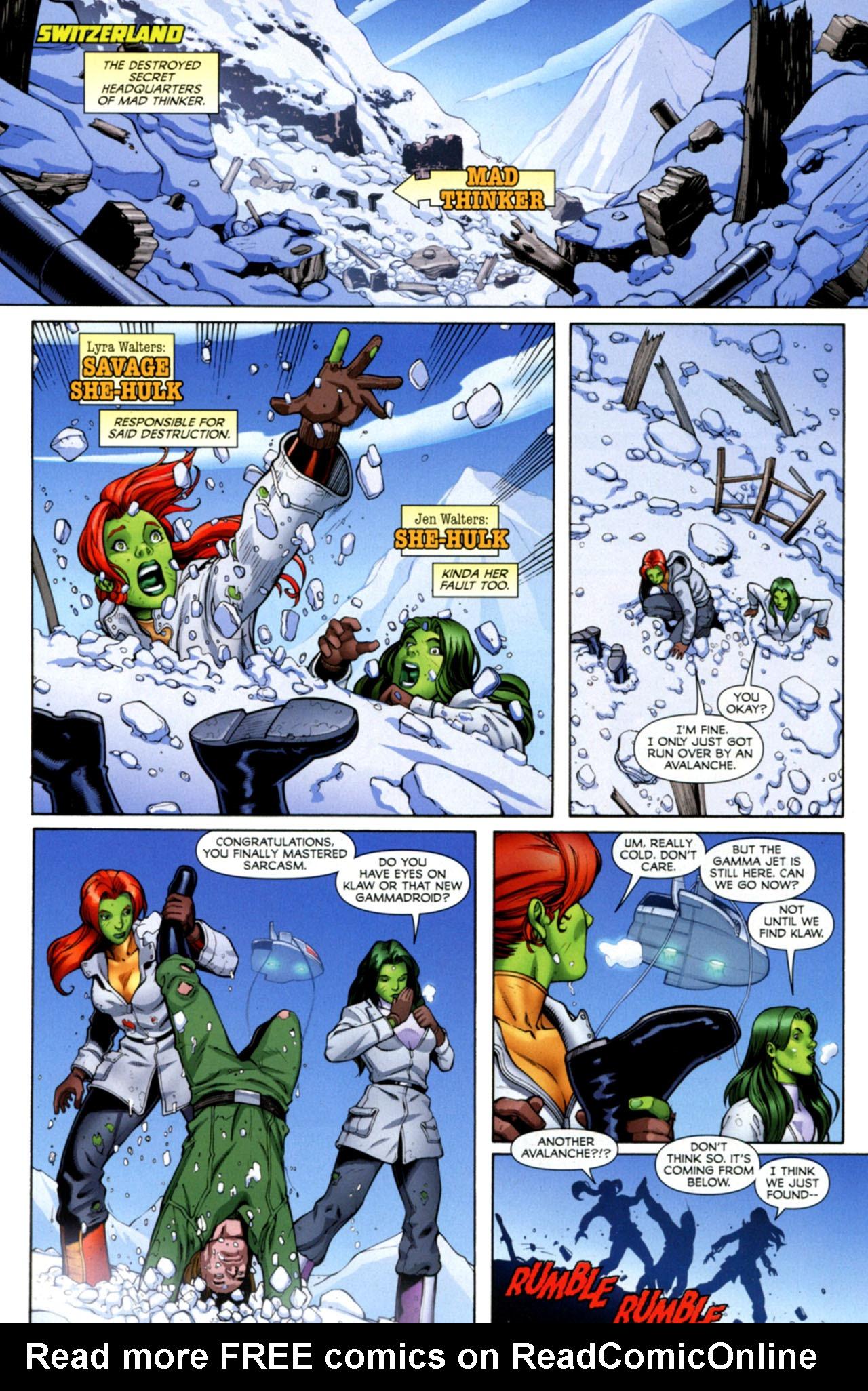 Read online She-Hulks comic -  Issue #4 - 3