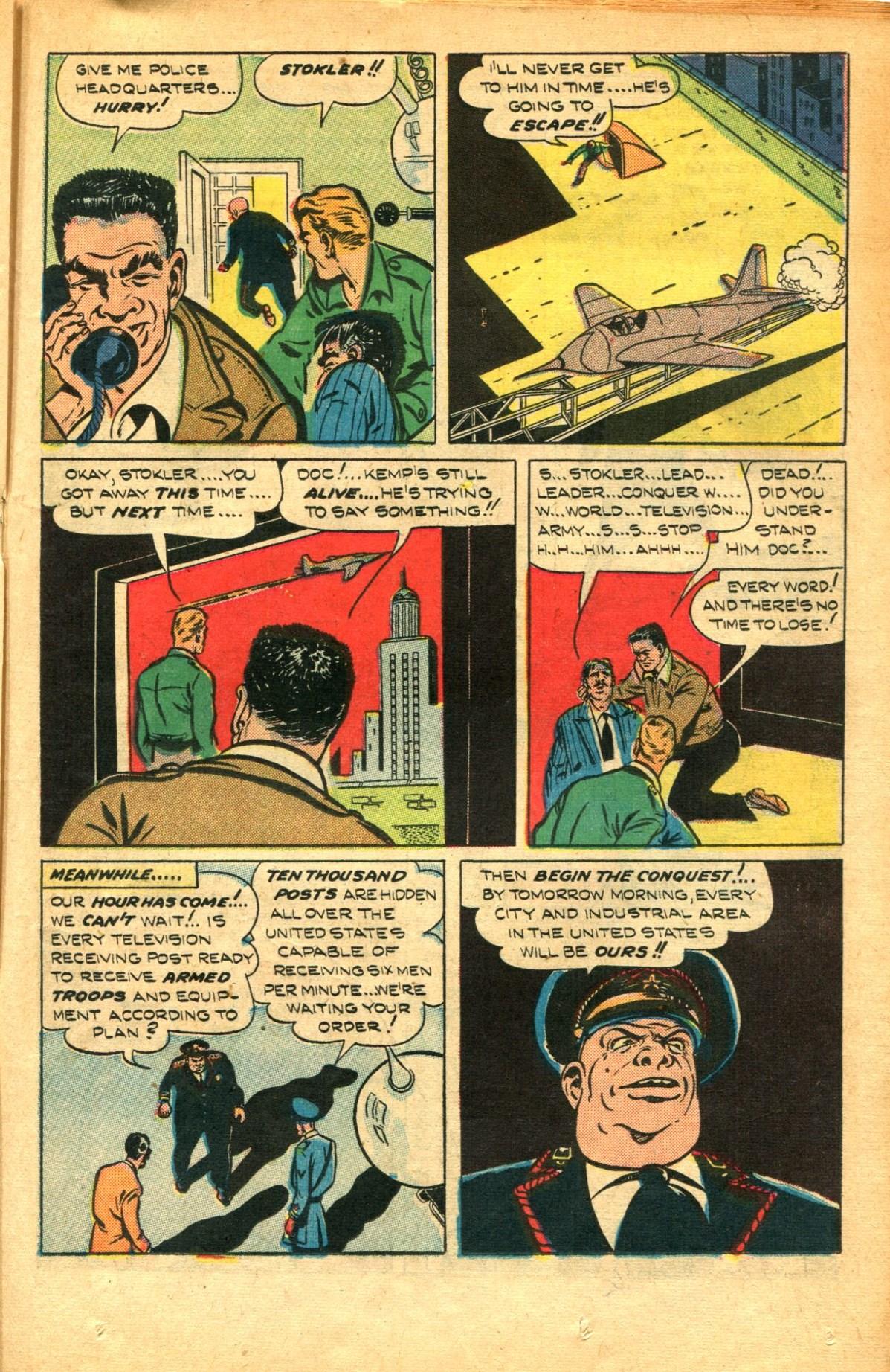 Read online Shadow Comics comic -  Issue #91 - 29