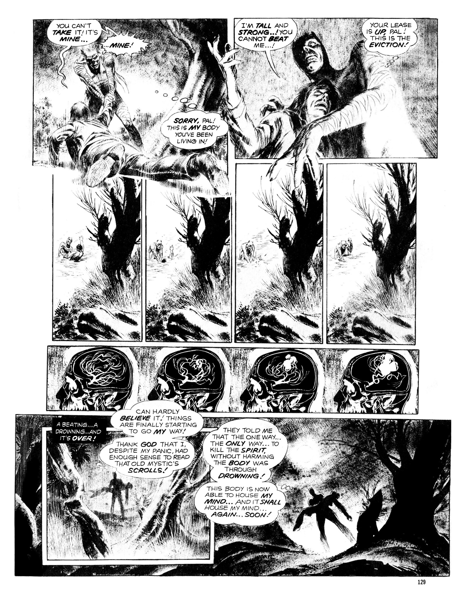 Read online Eerie Archives comic -  Issue # TPB 13 - 130