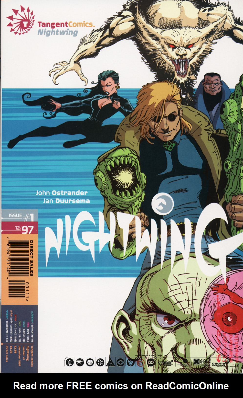 Read online Tangent Comics/ Nightwing comic -  Issue # Full - 1