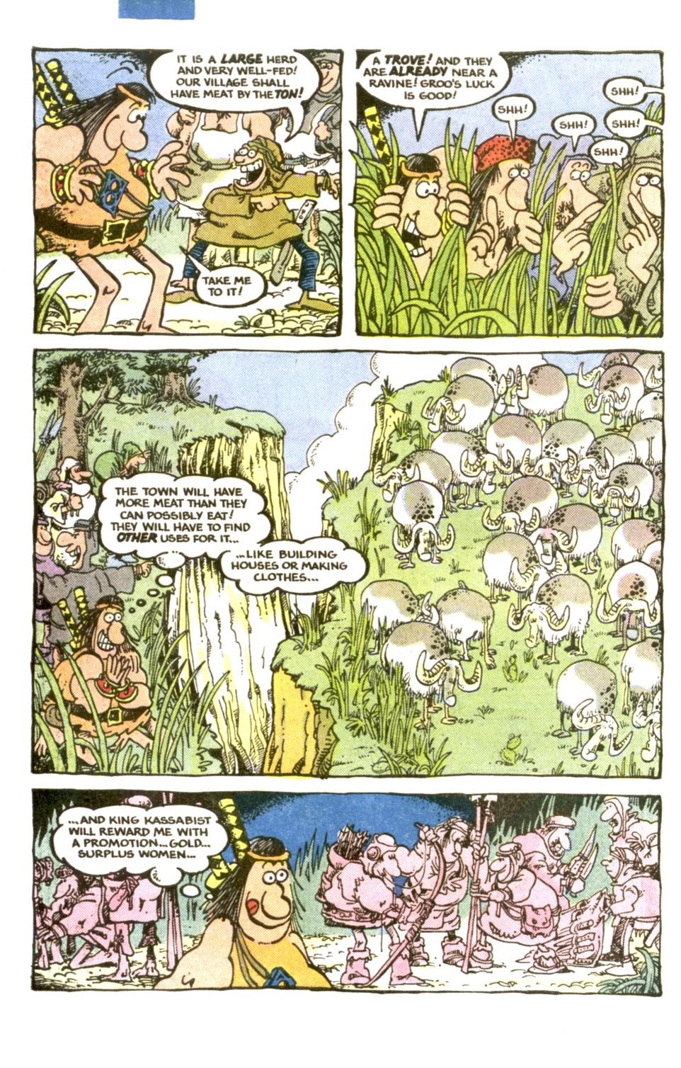 Read online Sergio Aragonés Groo the Wanderer comic -  Issue #1 - 6