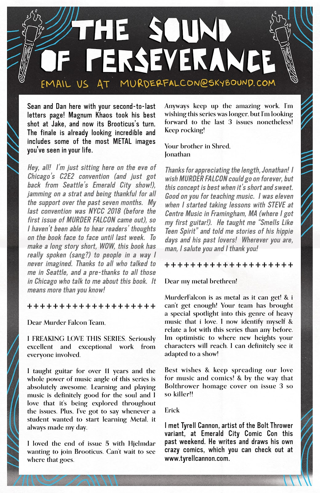 Read online Murder Falcon comic -  Issue #7 - 25