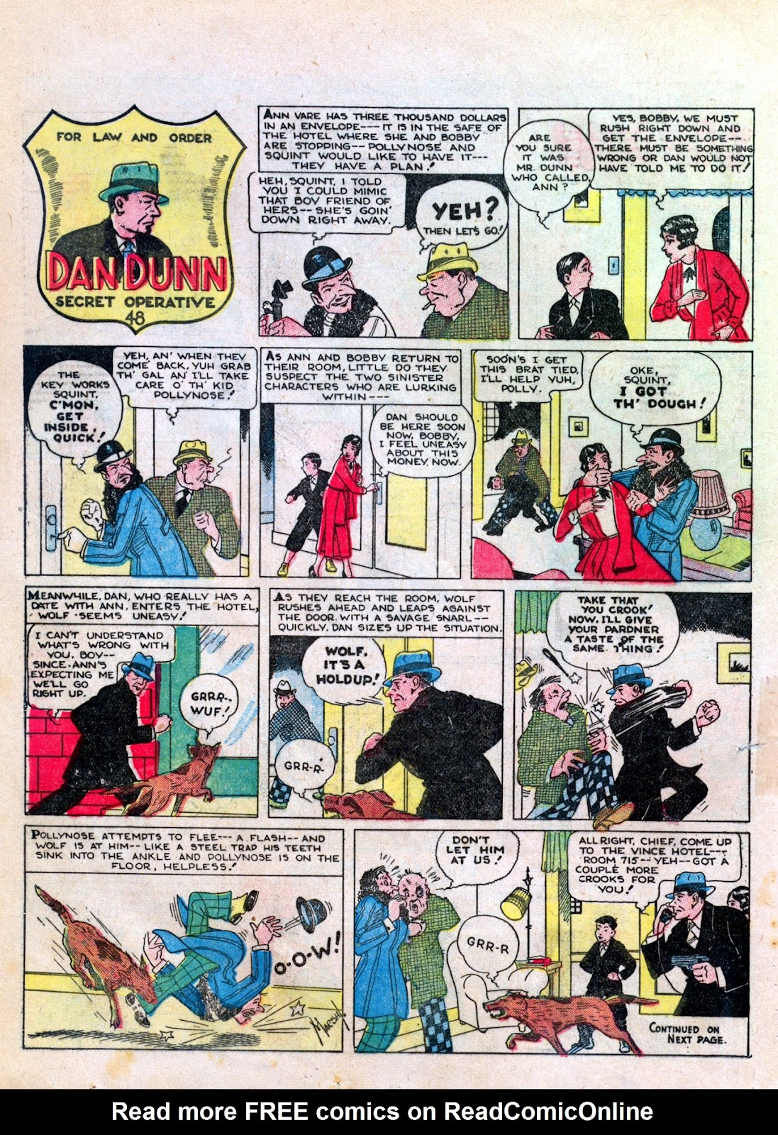 Read online Famous Funnies comic -  Issue #6 - 36