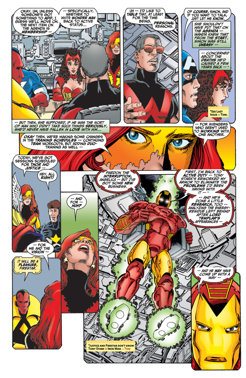 Read online Avengers (1998) comic -  Issue #15 - 8
