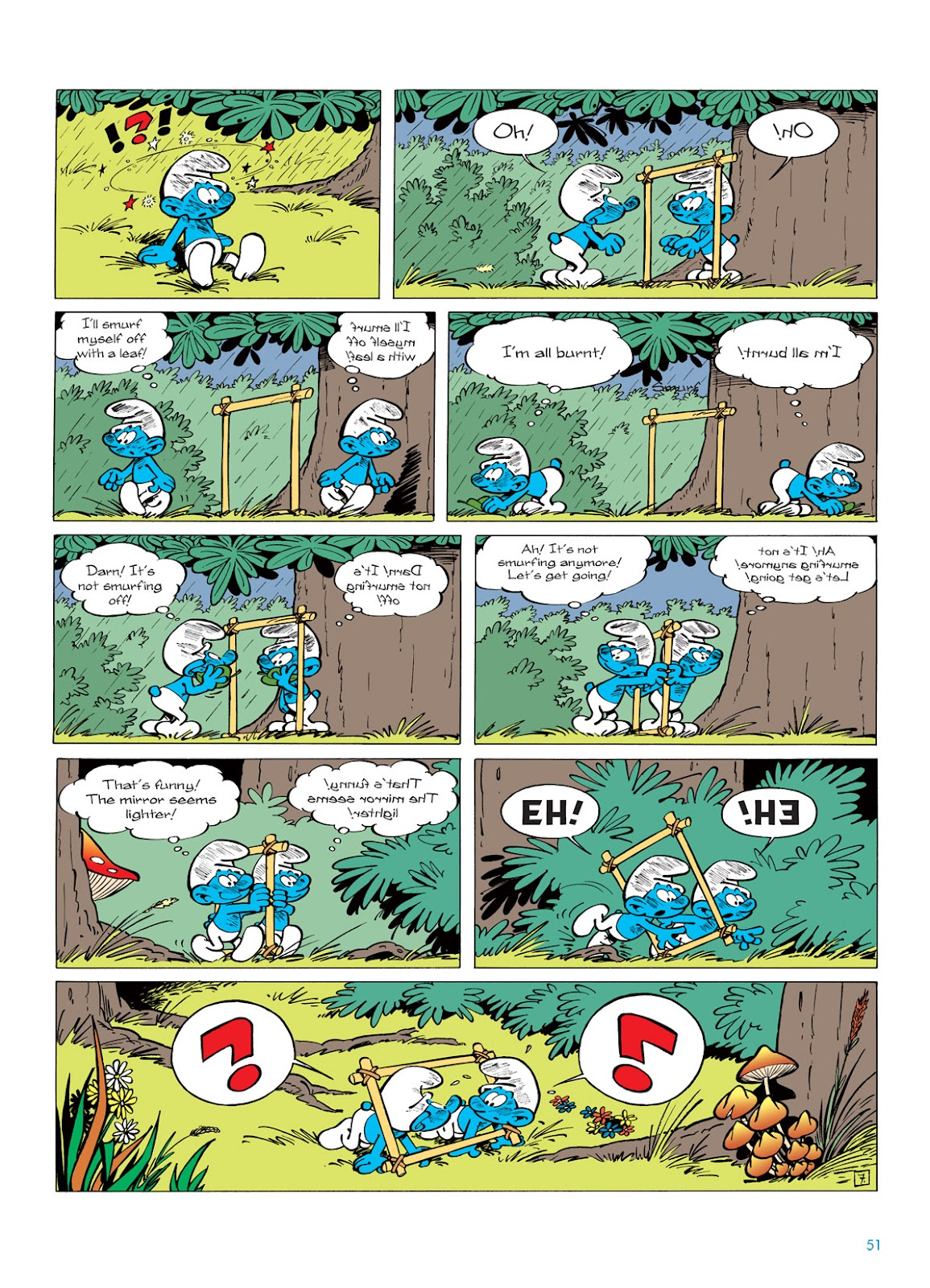 Read online The Smurfs comic -  Issue #5 - 51
