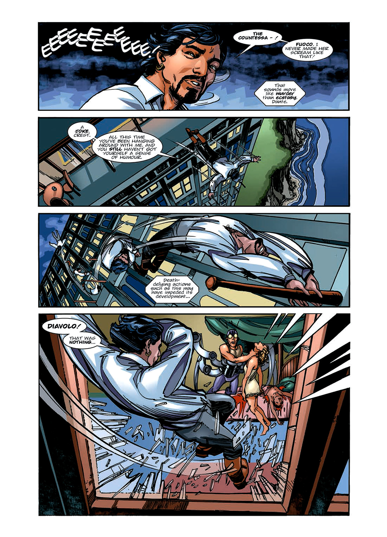 Read online Nikolai Dante comic -  Issue # TPB 6 - 60