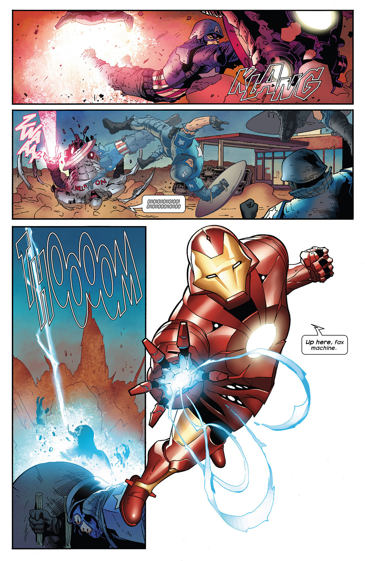 Read online Ultimate Comics Ultimates comic -  Issue #13 - 18
