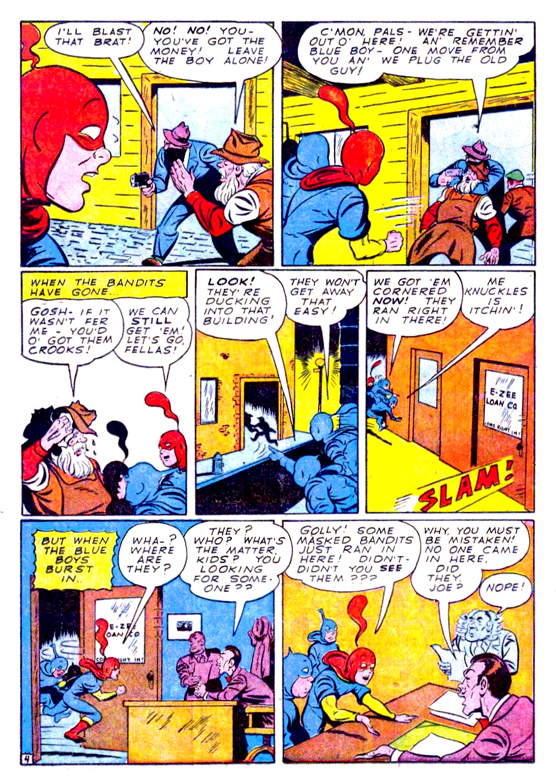 Read online Sensation (Mystery) Comics comic -  Issue #29 - 28