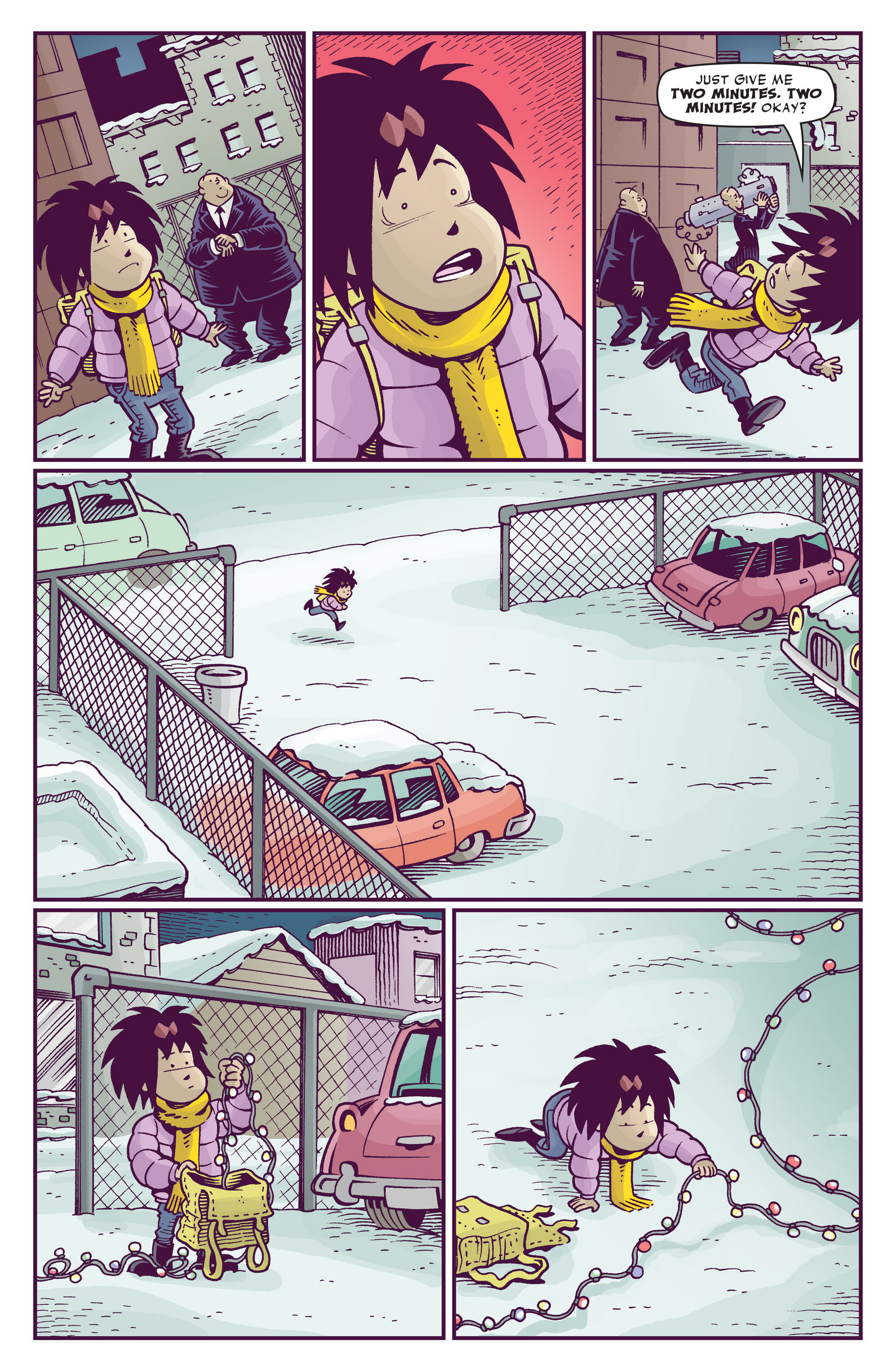 Read online Abigail And The Snowman comic -  Issue #4 - 27