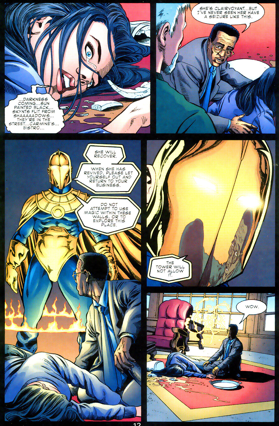 Read online Doctor Fate (2003) comic -  Issue #2 - 13