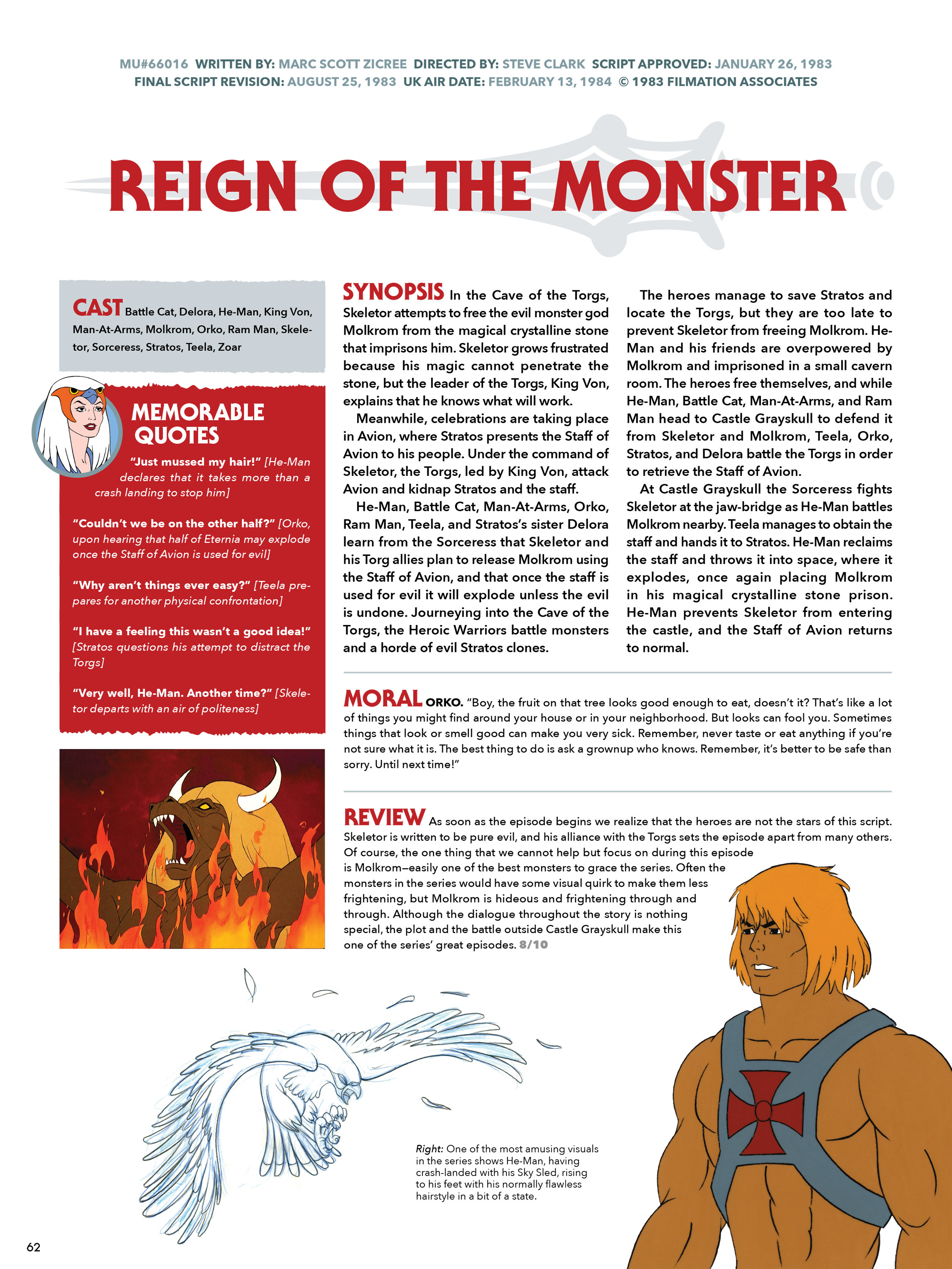 Read online He-Man and She-Ra: A Complete Guide to the Classic Animated Adventures comic -  Issue # TPB (Part 1) - 61